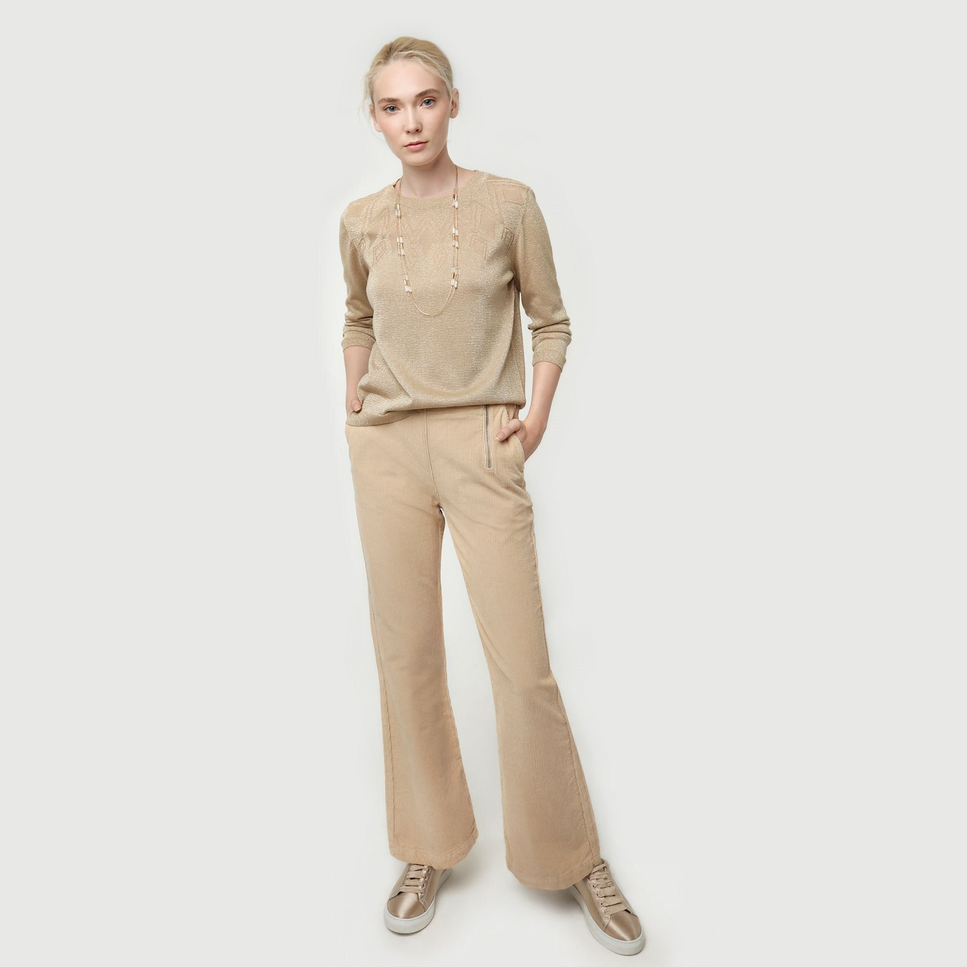 Corduroy Wide Leg Trouser