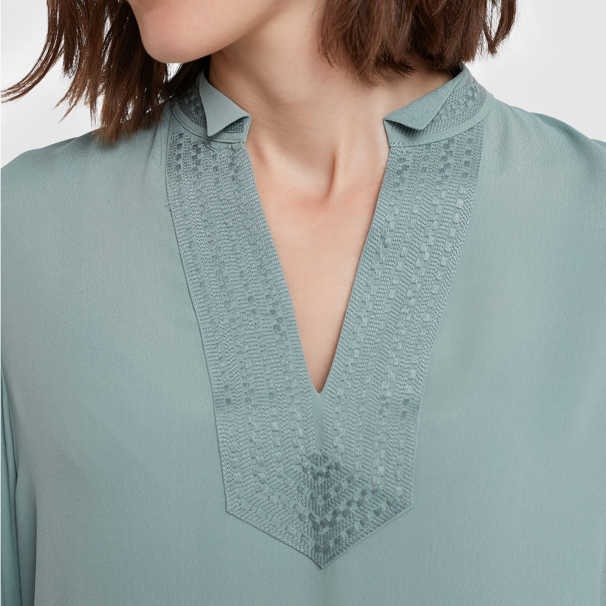 Embroidery Detailed Blouse