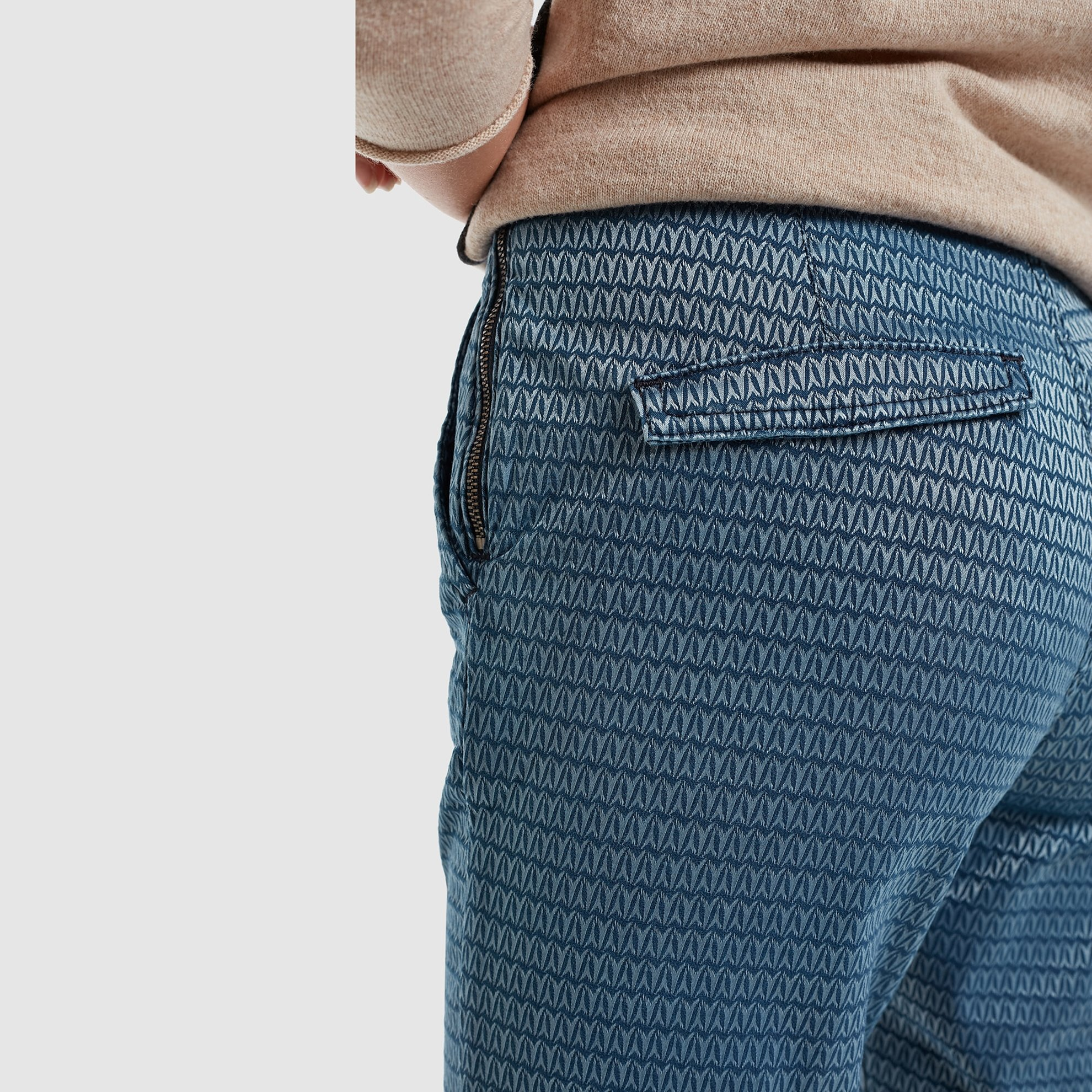 Flap Pocket Belt Detailed Pants