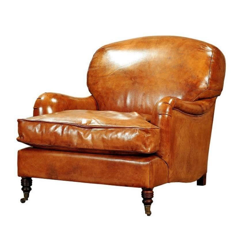 Leather Armchair ( 90 X 110 X 82 Cm )