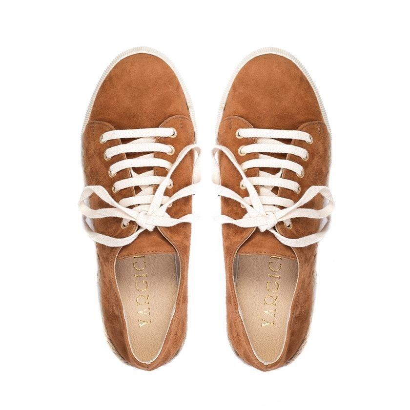 Espadril Taban Detay Süet Ayakkabı