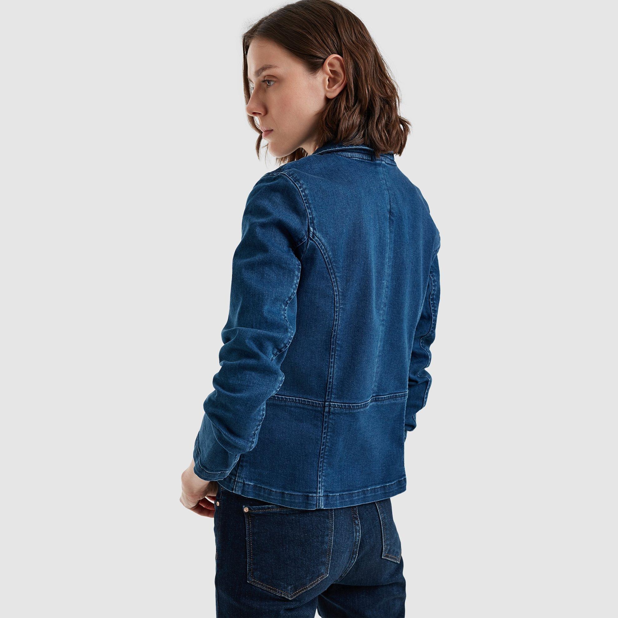 Finish Shaded  Denim Jacket