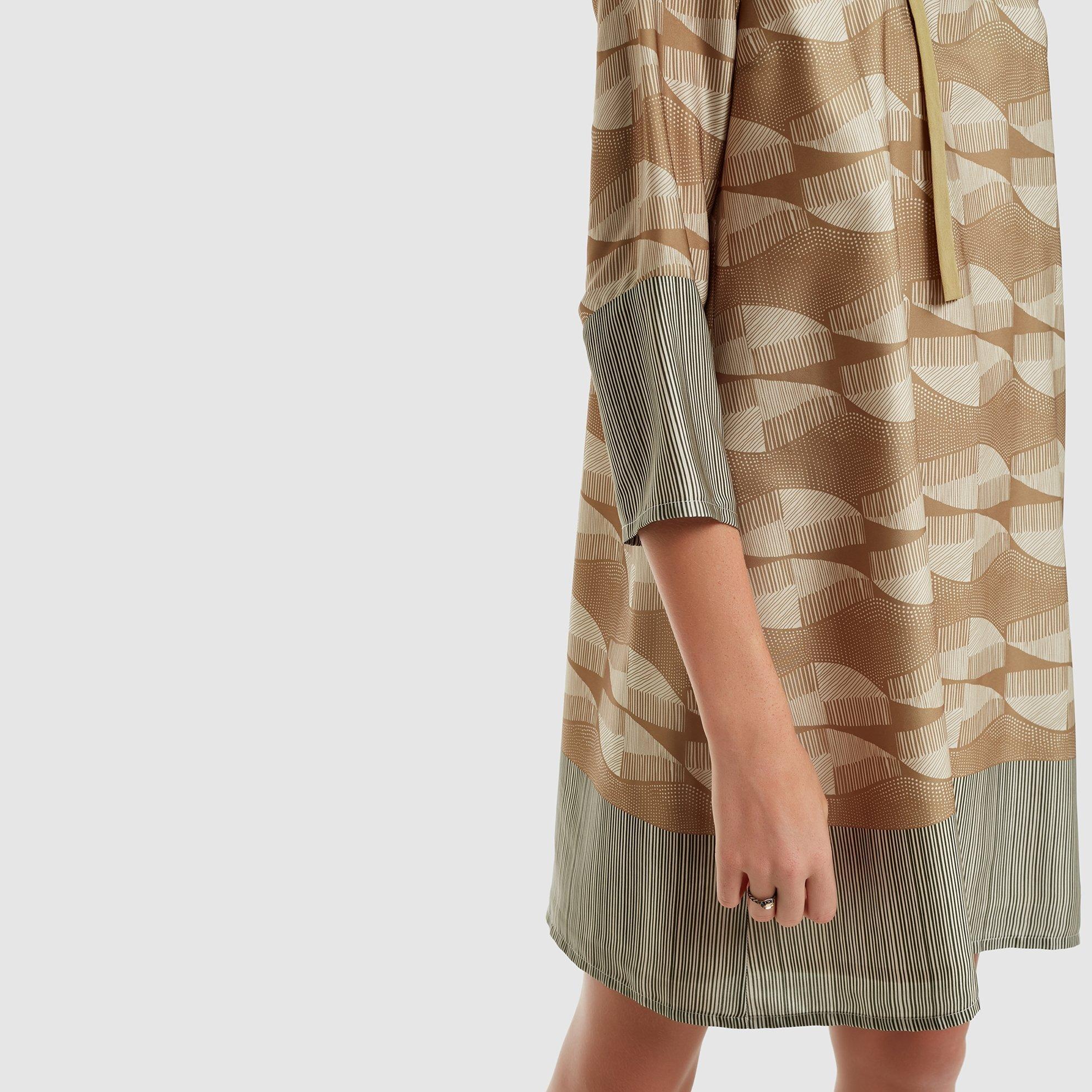 resm Bağlama Detaylı Elbise