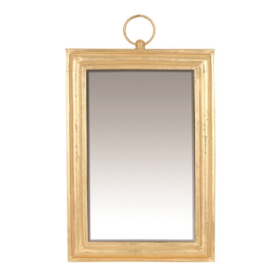 Gold Foil Covered Mirror (  35 X 57 X 3 Cm  )