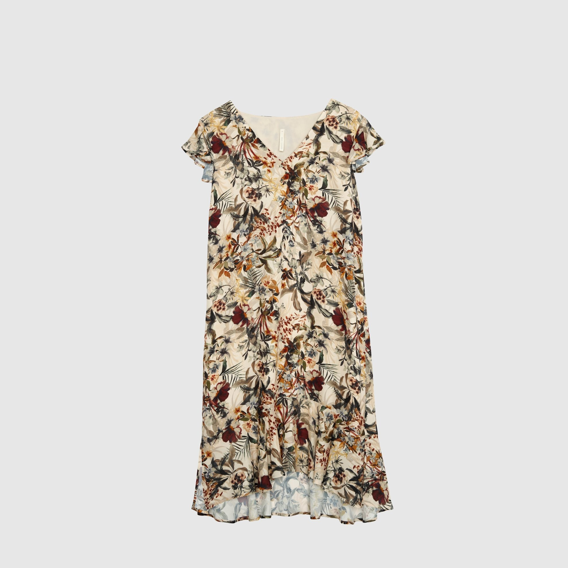 resm V Yakalı Elbise