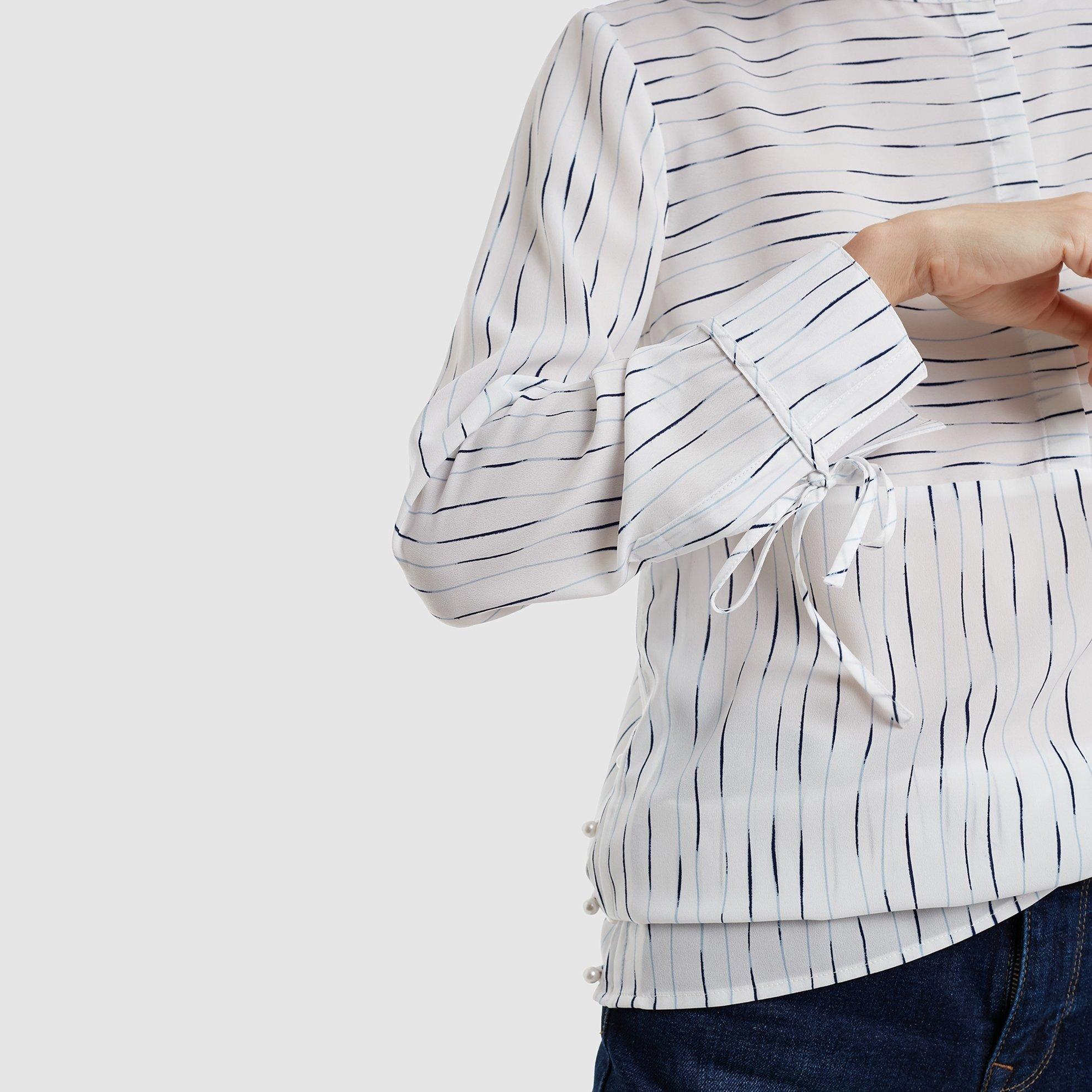Nervür Detaylı Gömlek