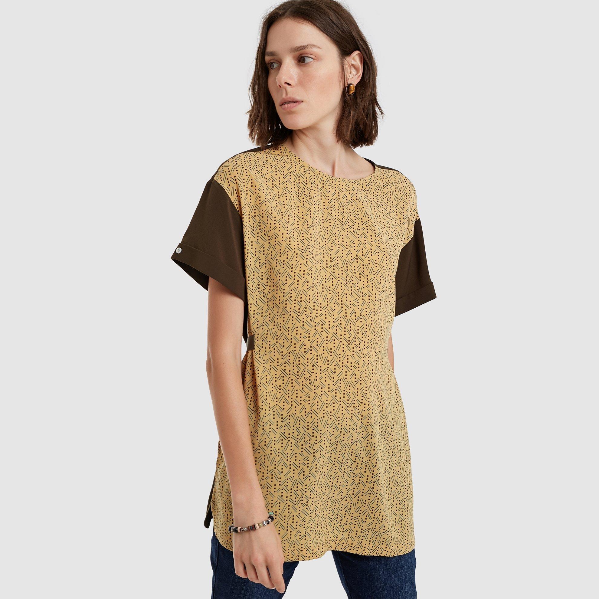 Yırtmaç Detaylı Bluz