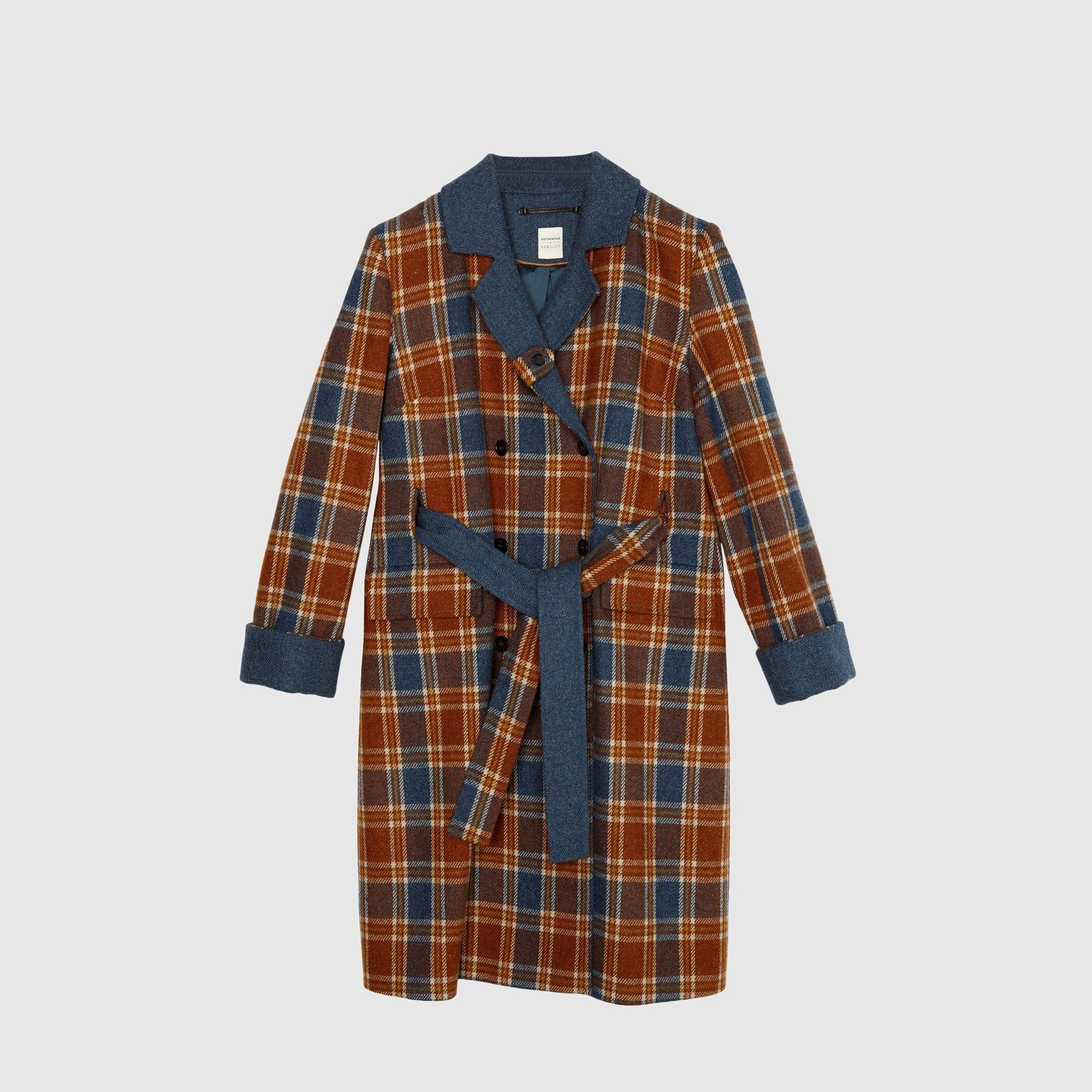 Kemer Detaylı Palto