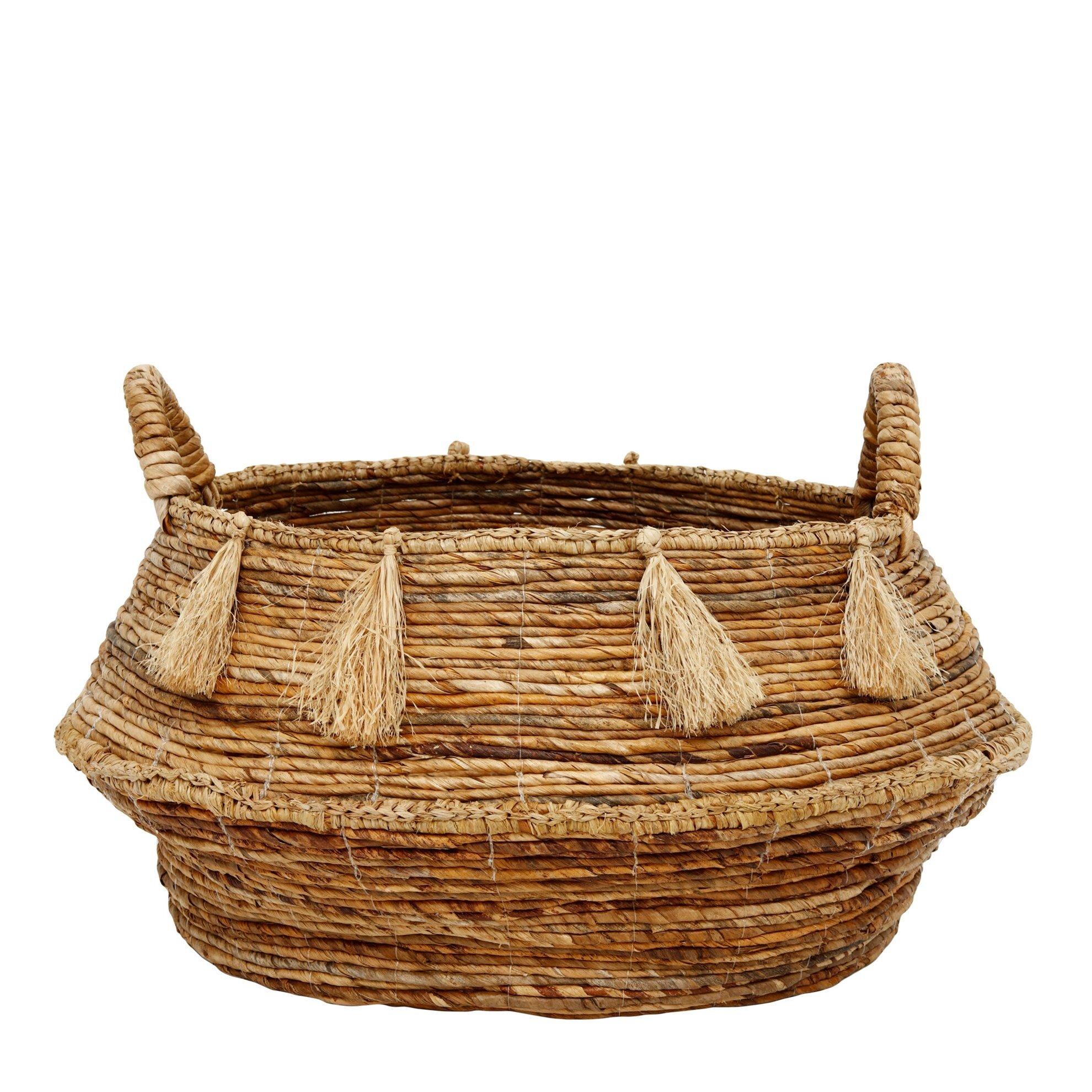 Straw Basket ( 44 X 48 X 38 Cm )