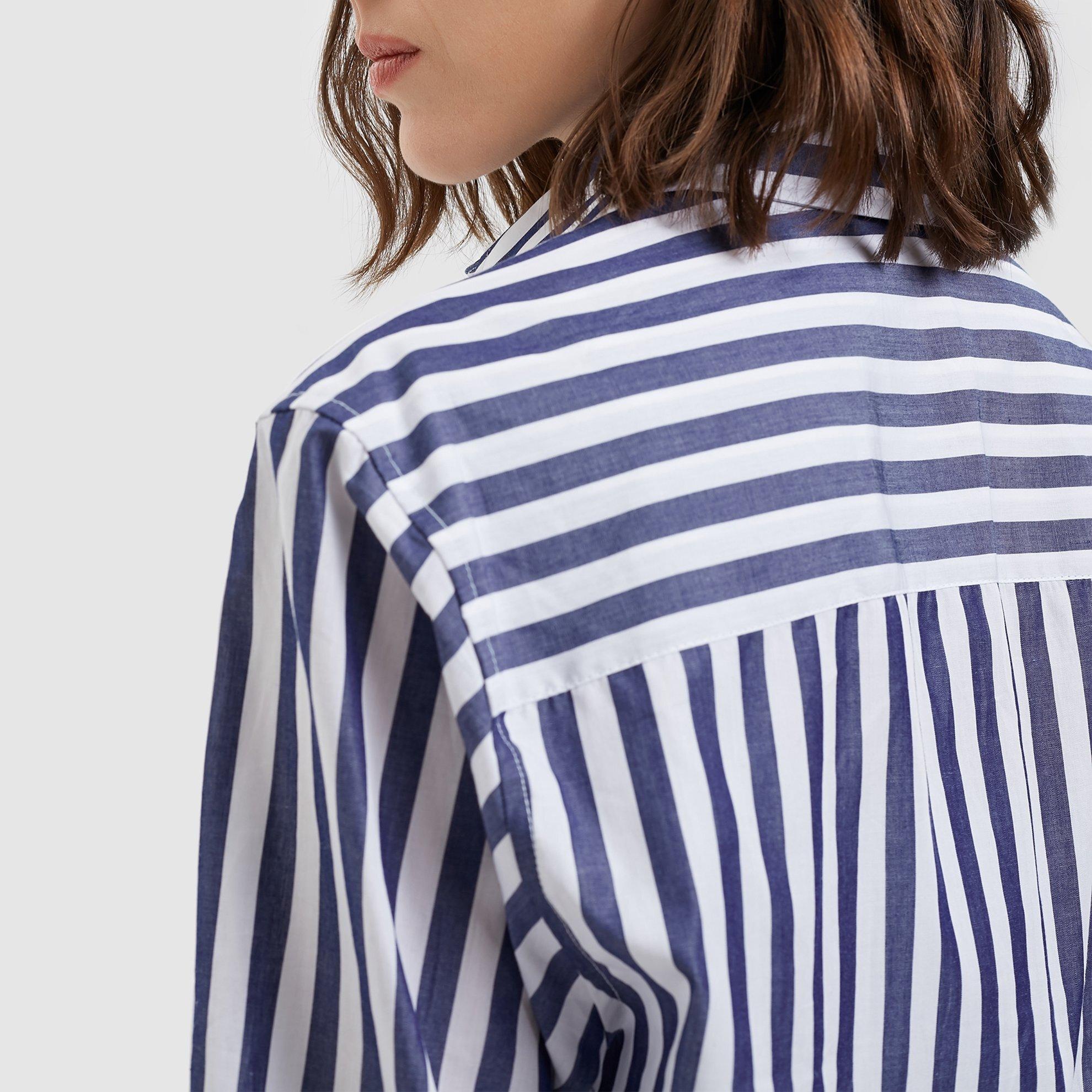 Cep Detaylı Unısex Gömlek