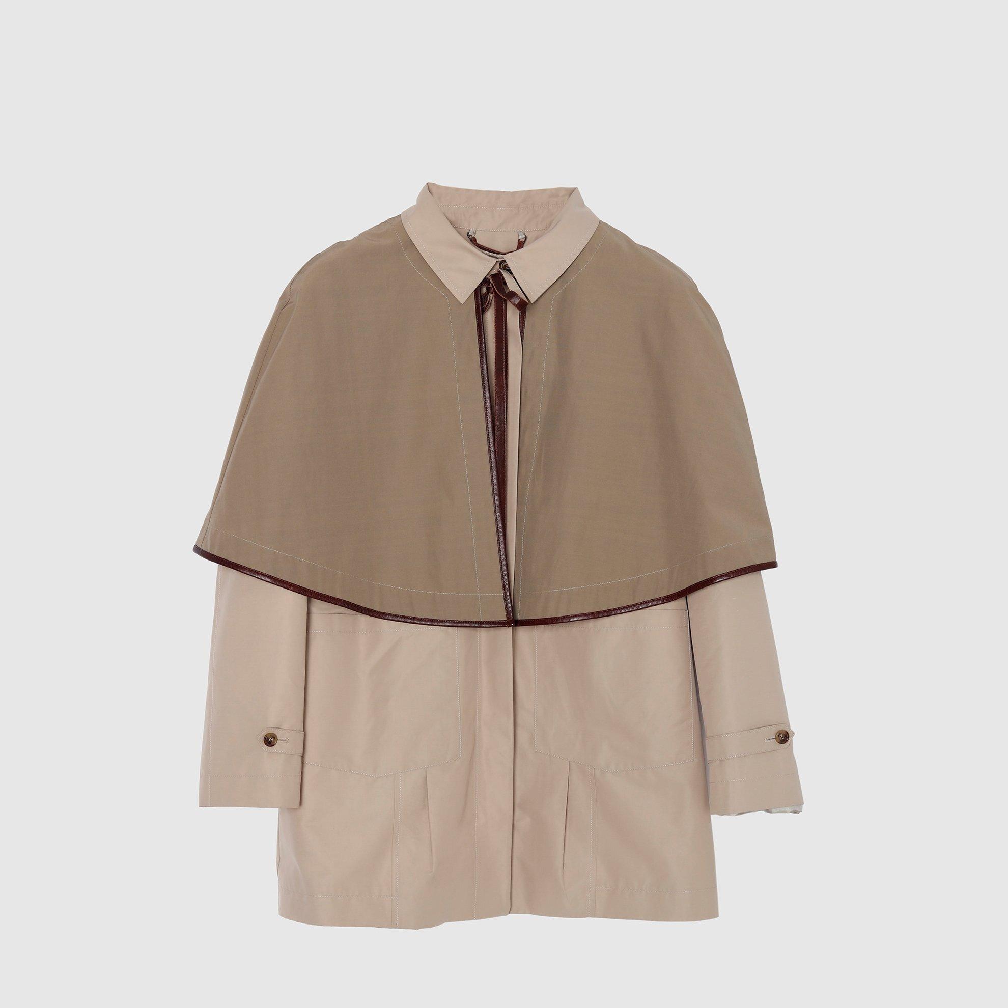Shirt Collar Coat
