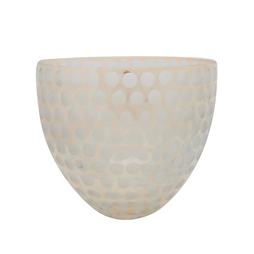 Glass Vase (  24 X 23 Cm  )