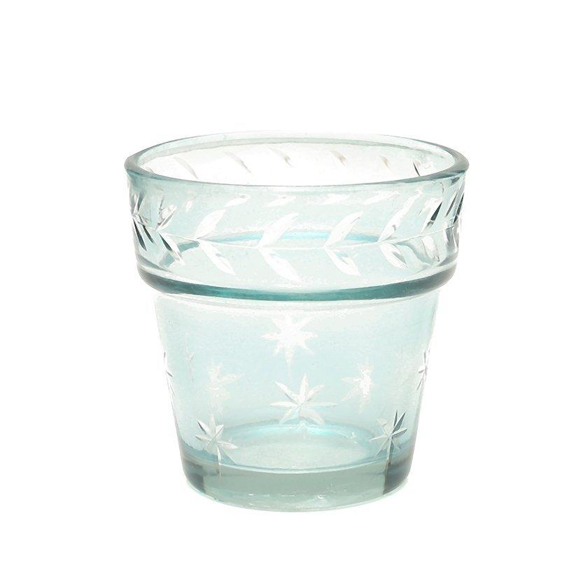 Glas Kerzenhalter
