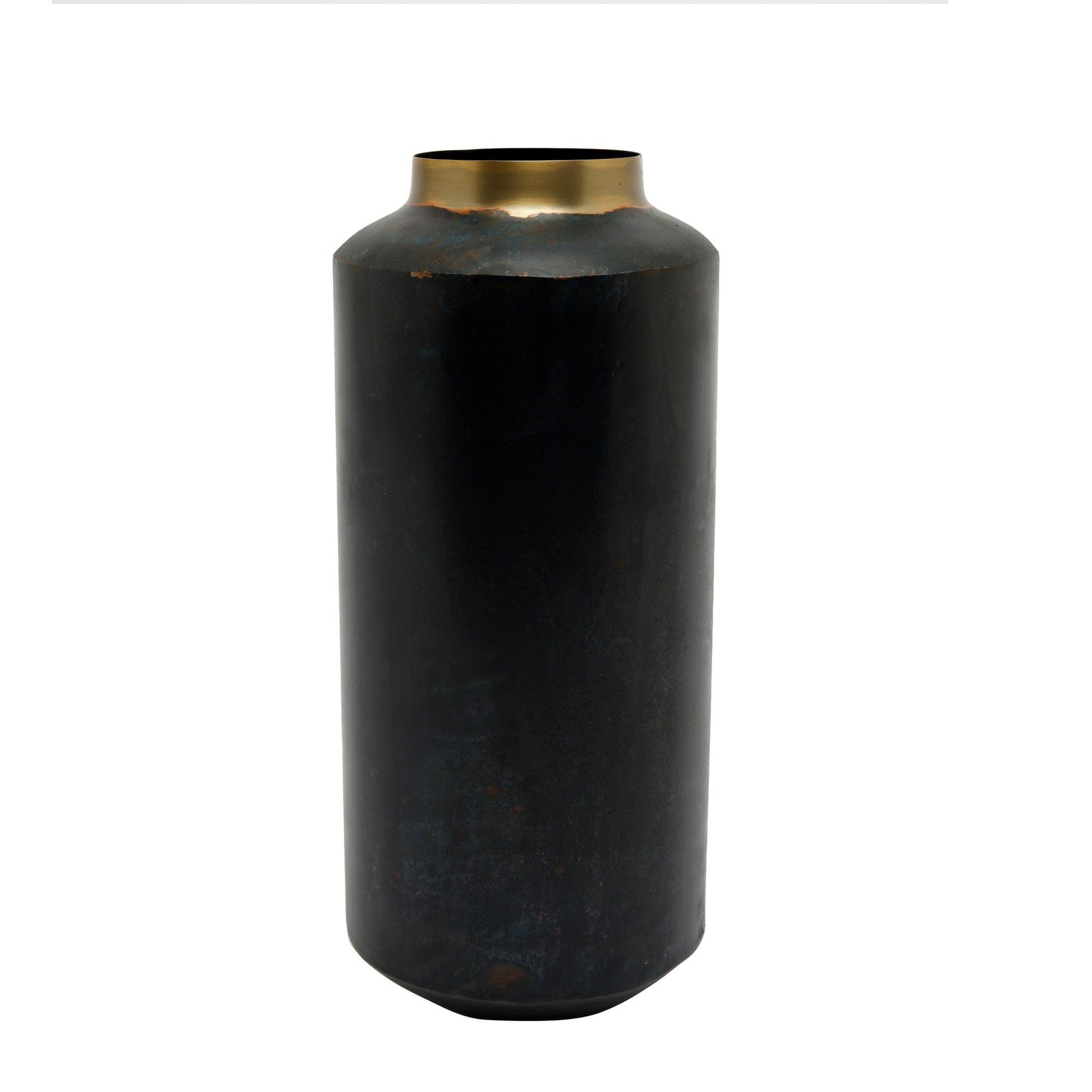 Vase aus Metall