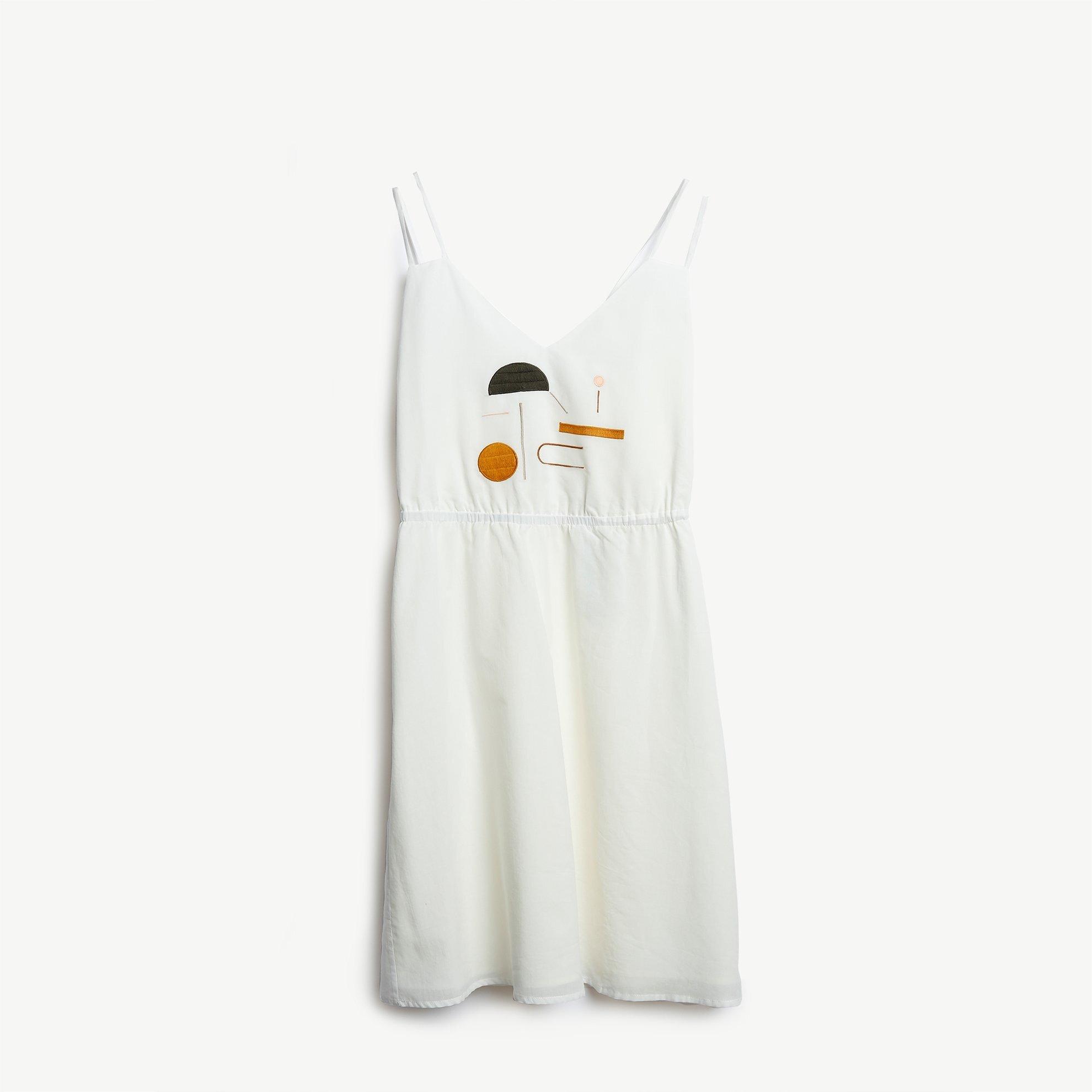 Besticktes Trägerkleid
