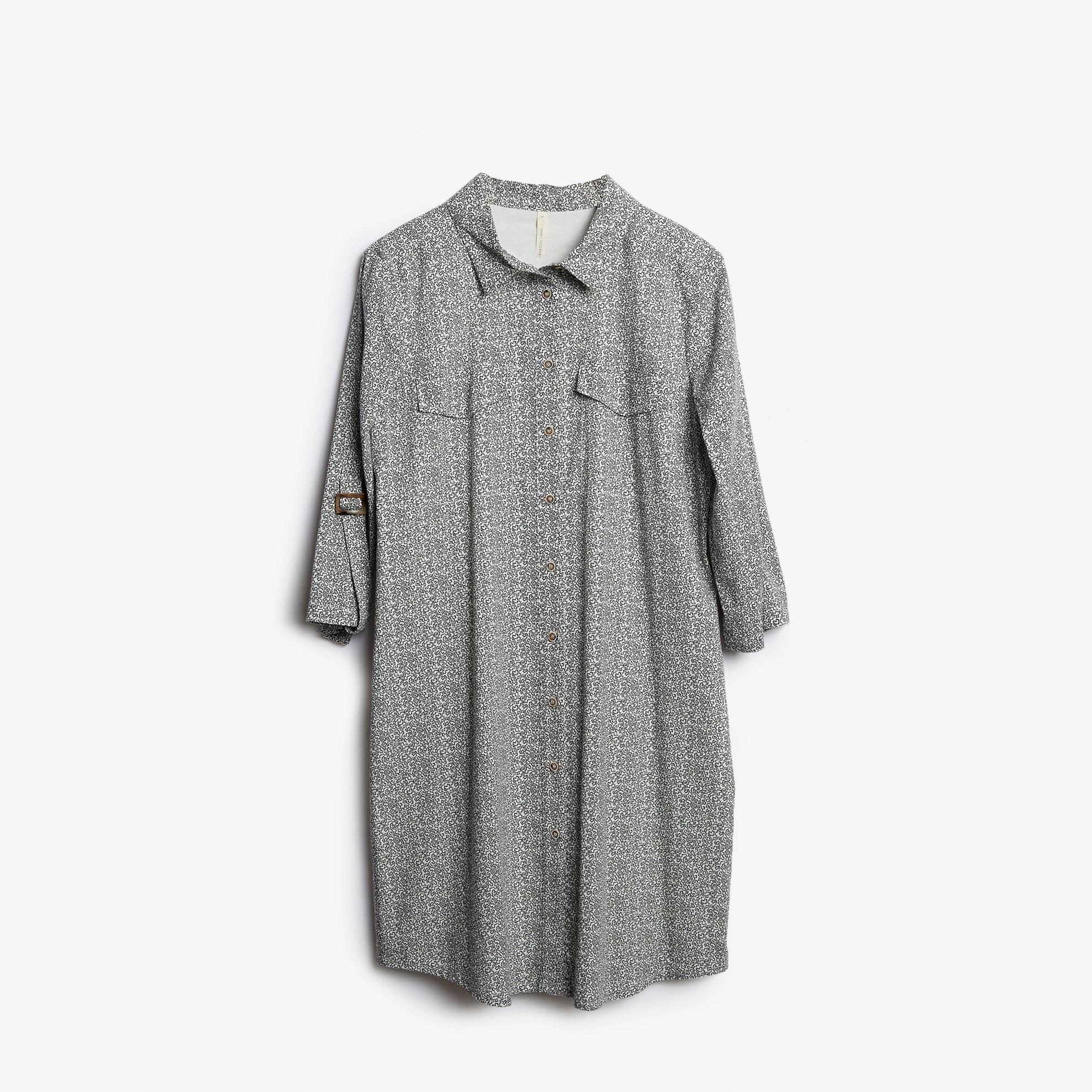resm Gömlek Elbise