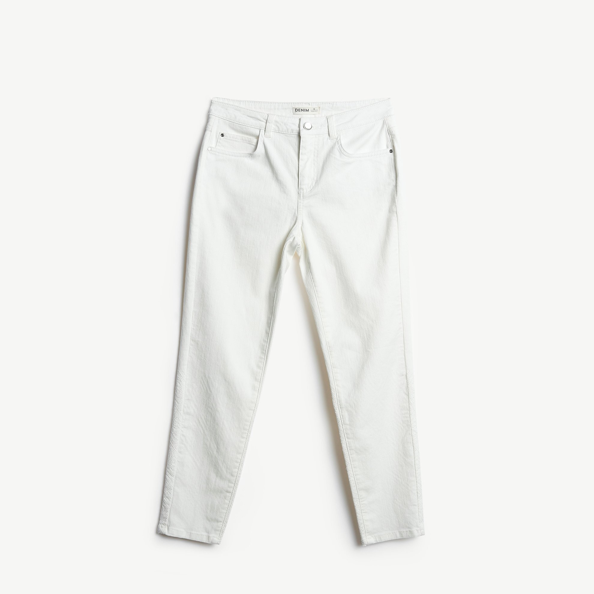 Back Hem Detailed Trousers