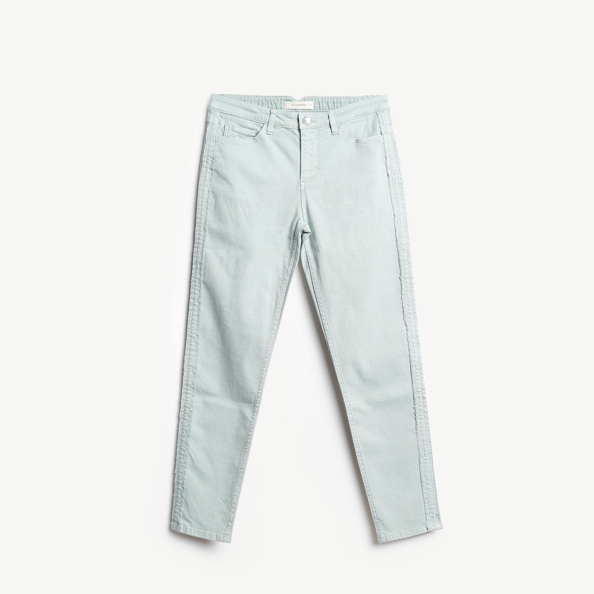 Side Stitch Detailed 5 Pocket Trouser