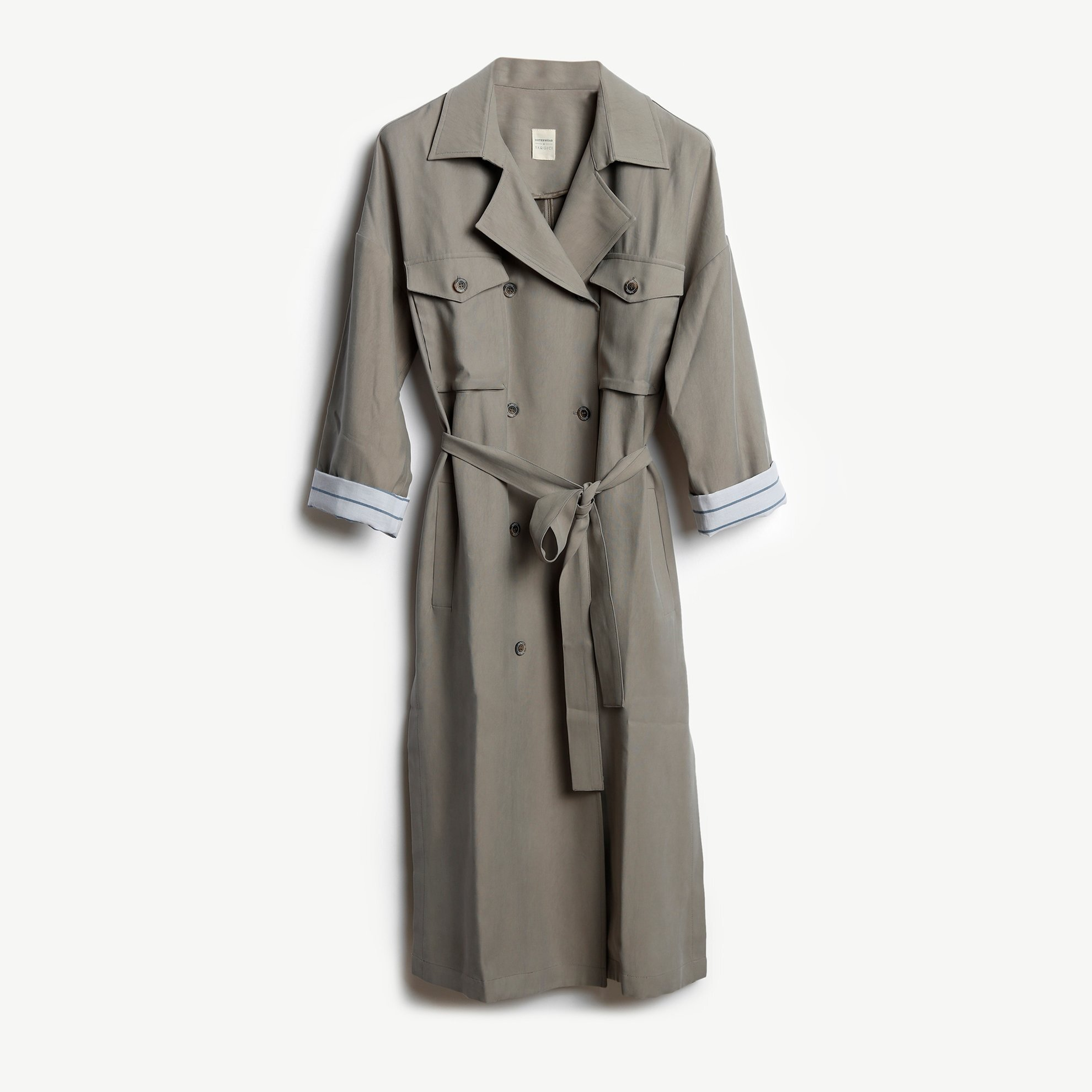 Pocket Detail Trenchcoat