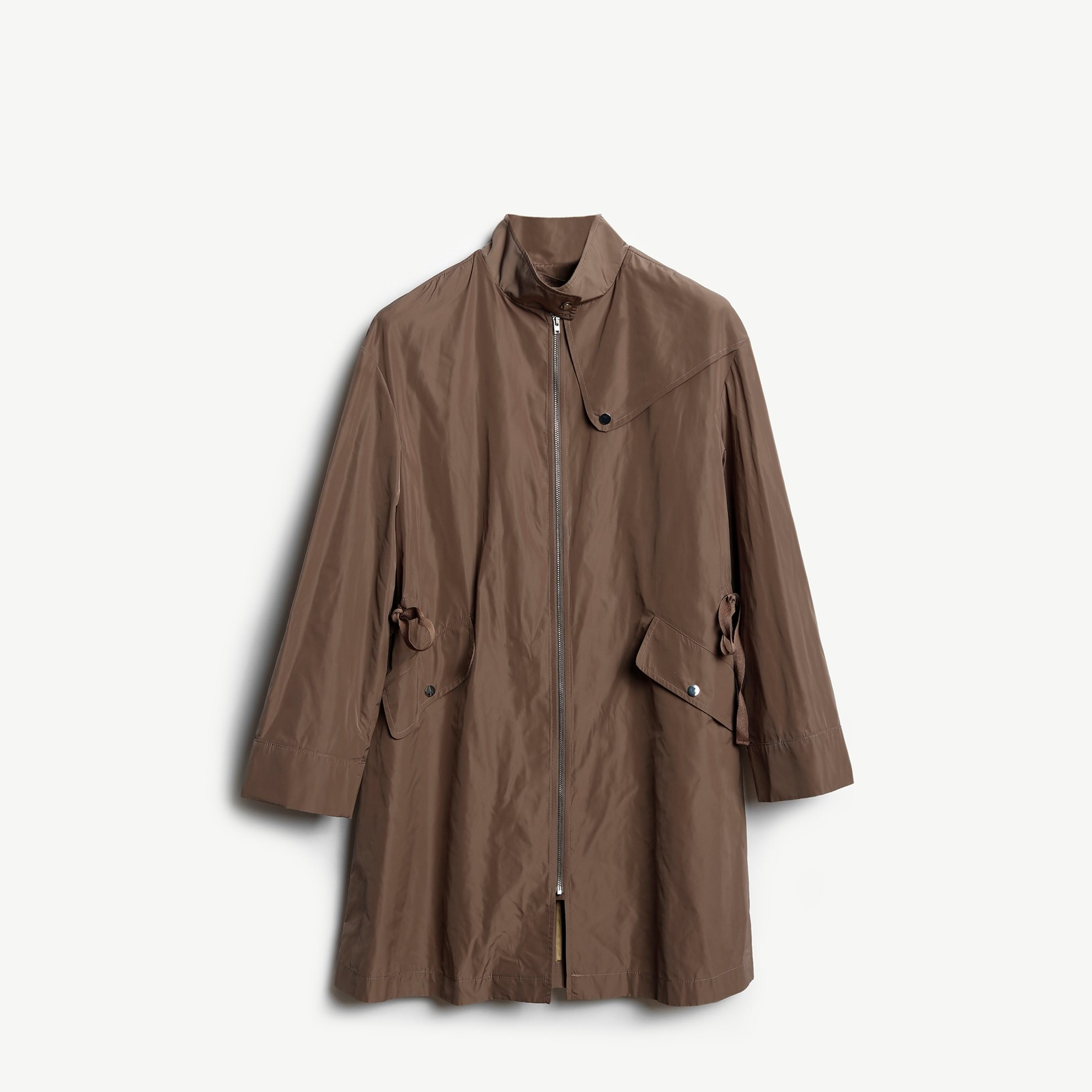 Grossgrain Detailed Coat