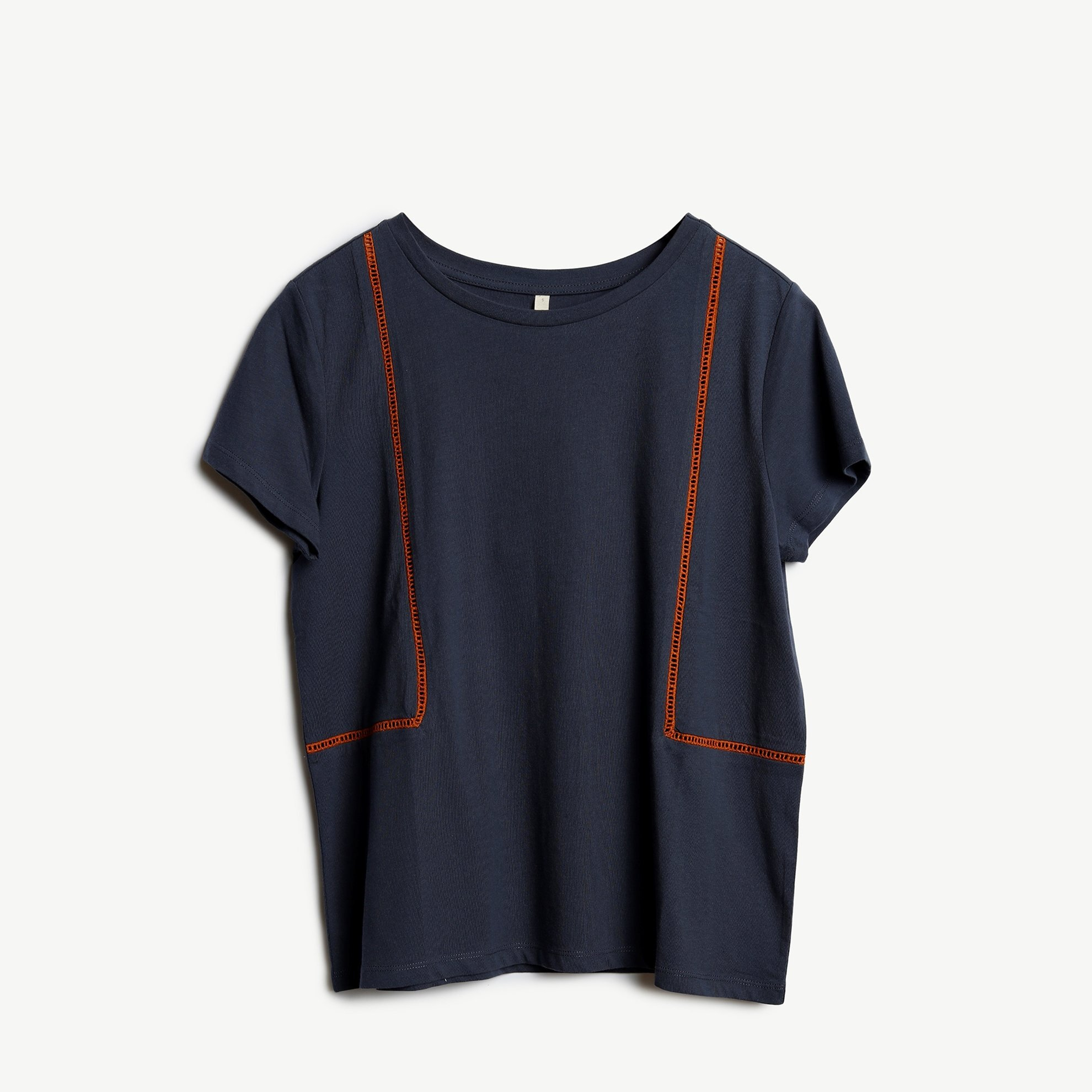 Ladder Trim Detailed T-Shirt