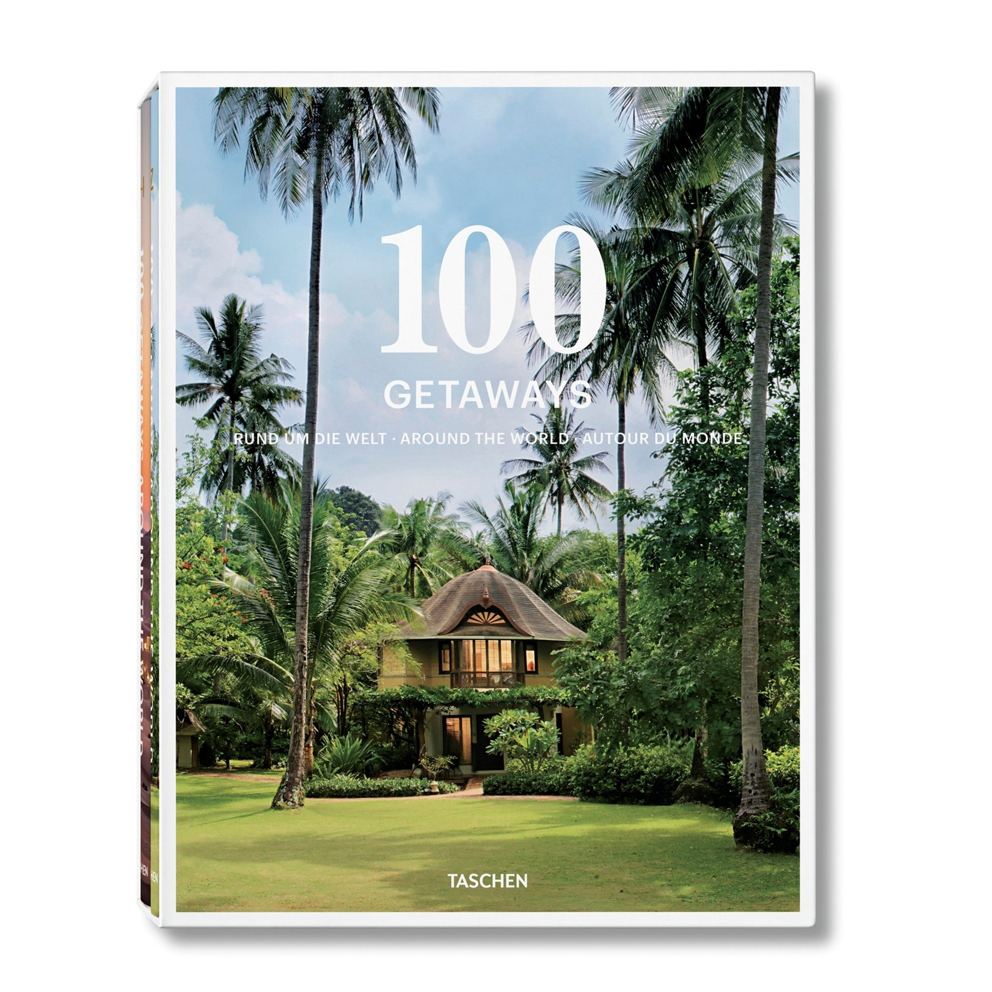 Book - 100 Getaways Around The World