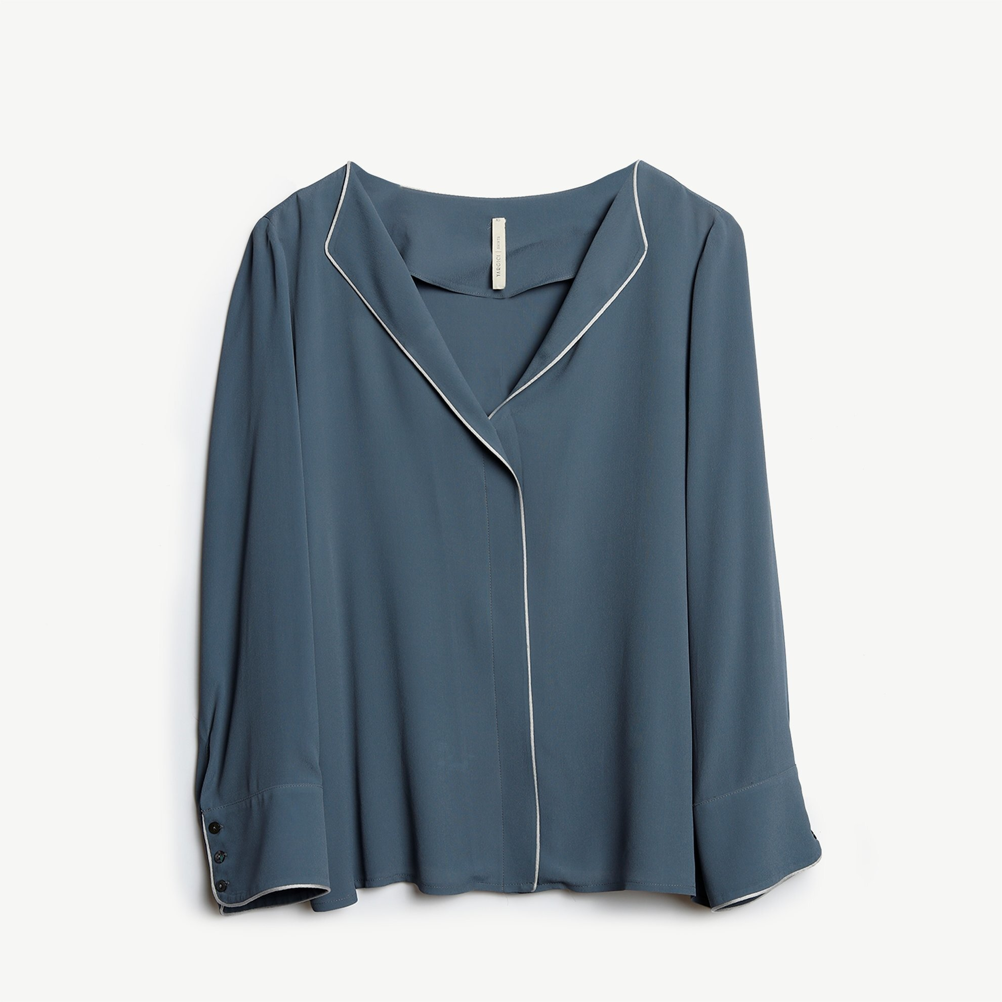 Piping Detailed Blouse