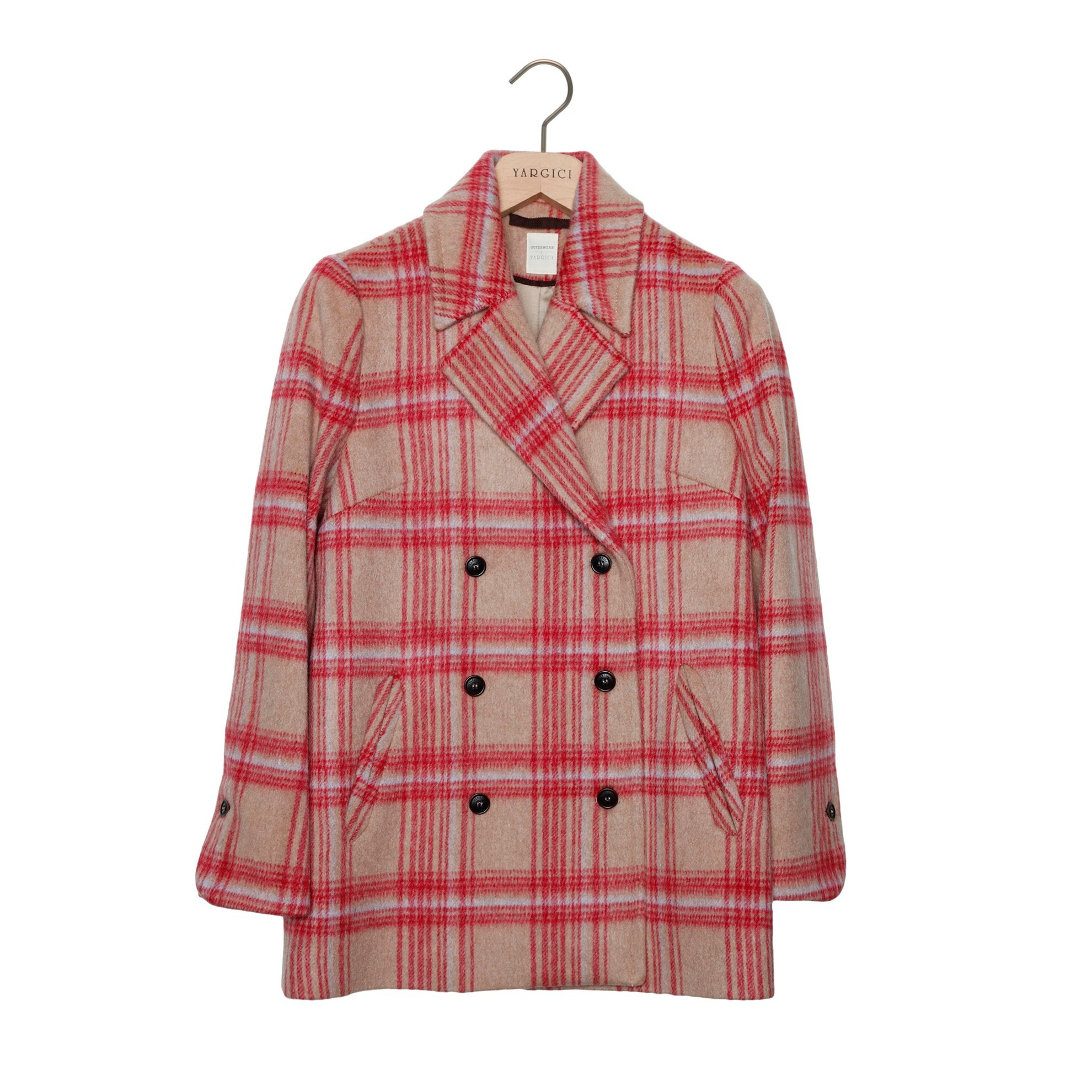 Double Breasted Wide Lapel Coat