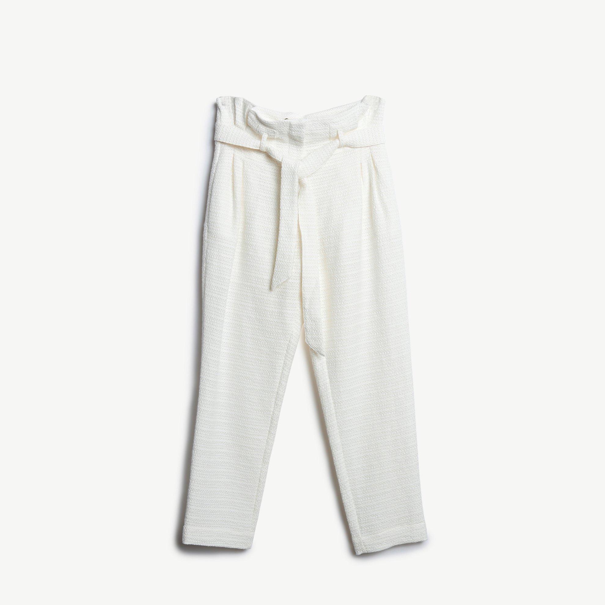 Kırma Detaylı Havuç Pantolon