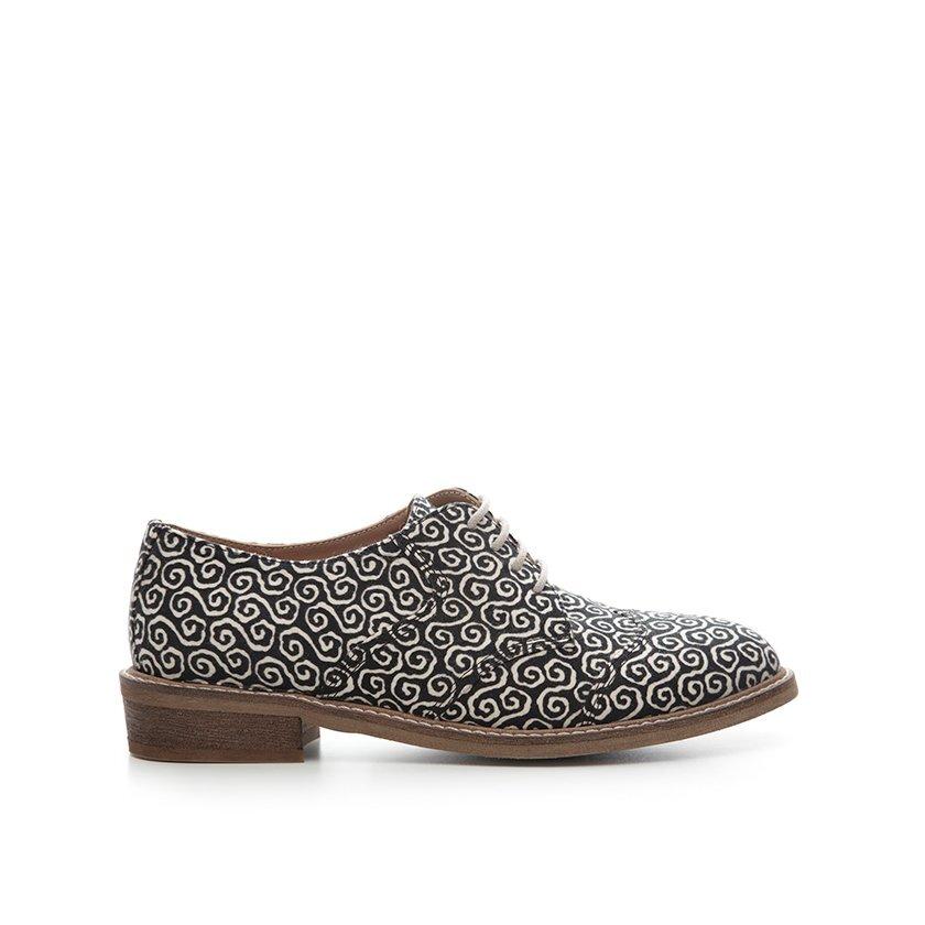 Desenli Kumaş Ayakkabı