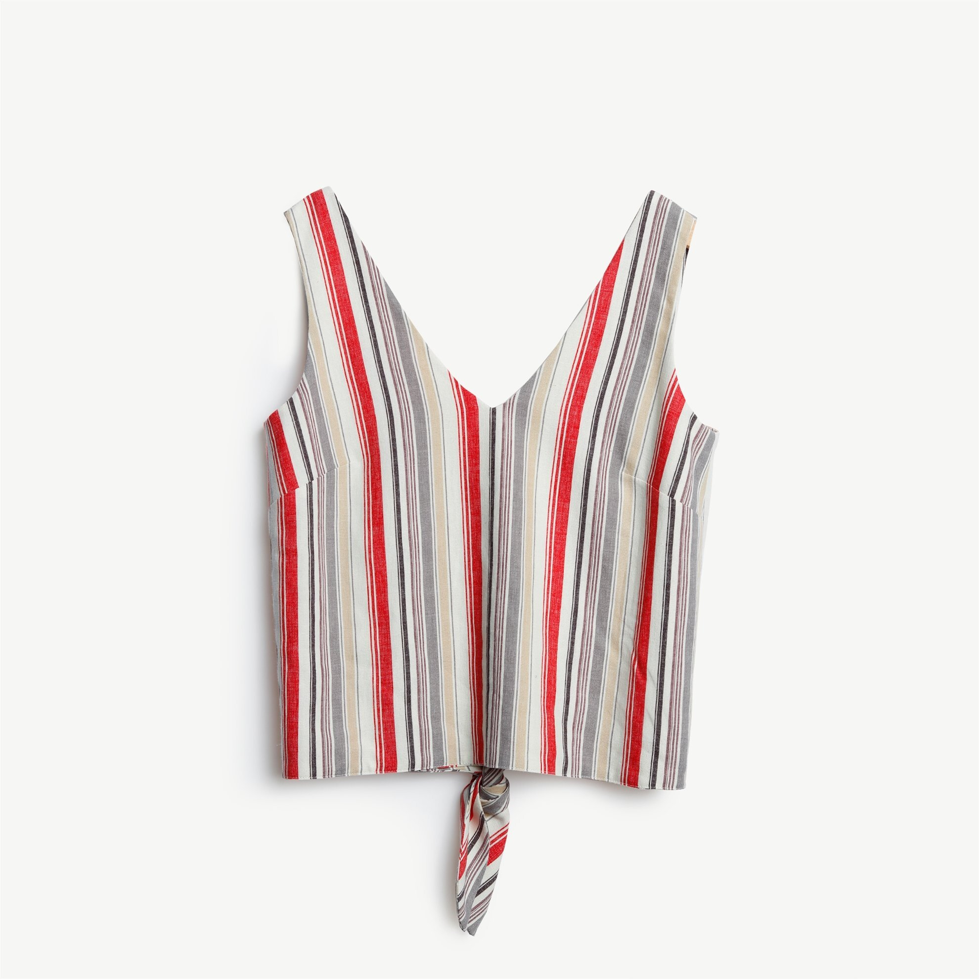 Sleeveless V Neck Shirt