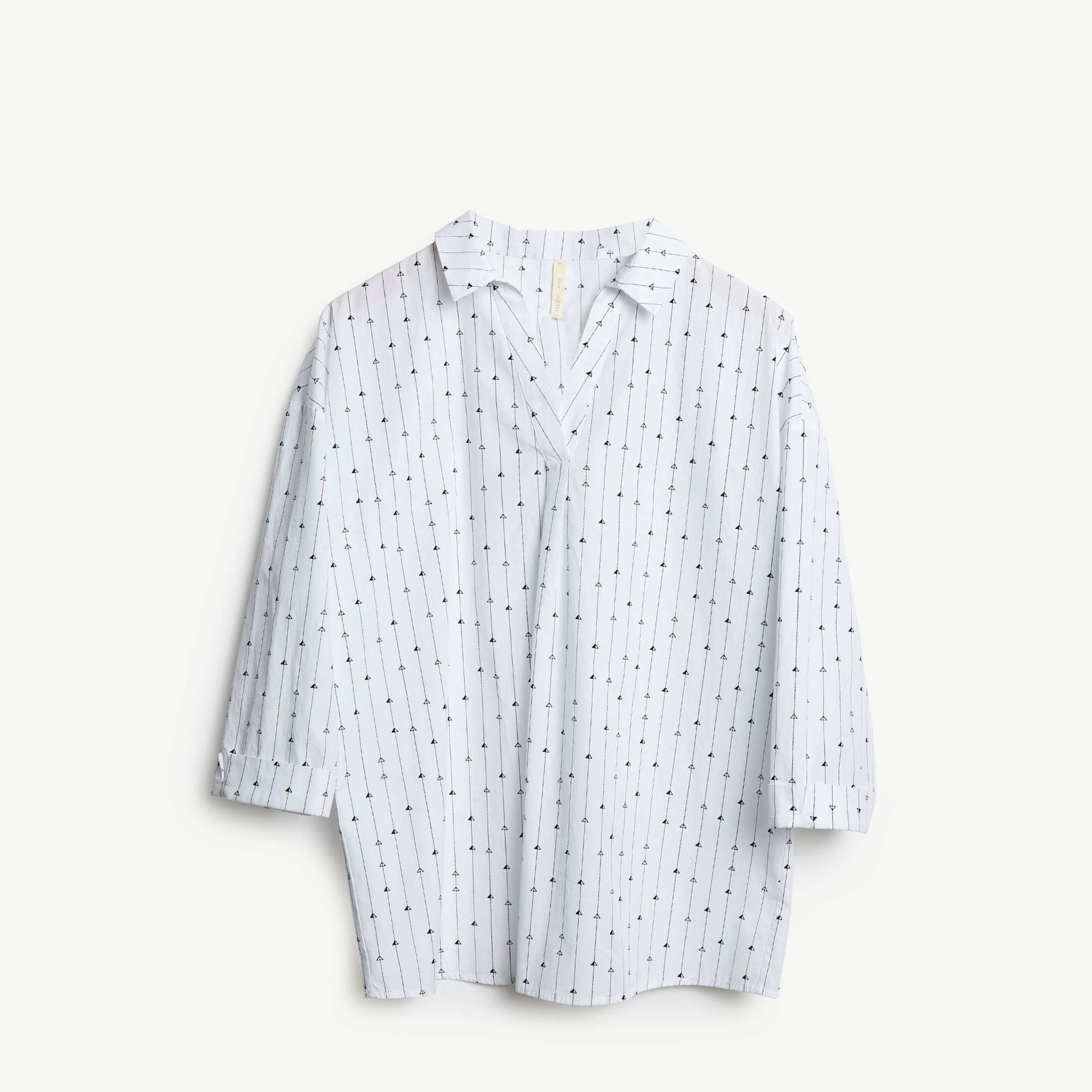 Kemer Detaylı Bluz