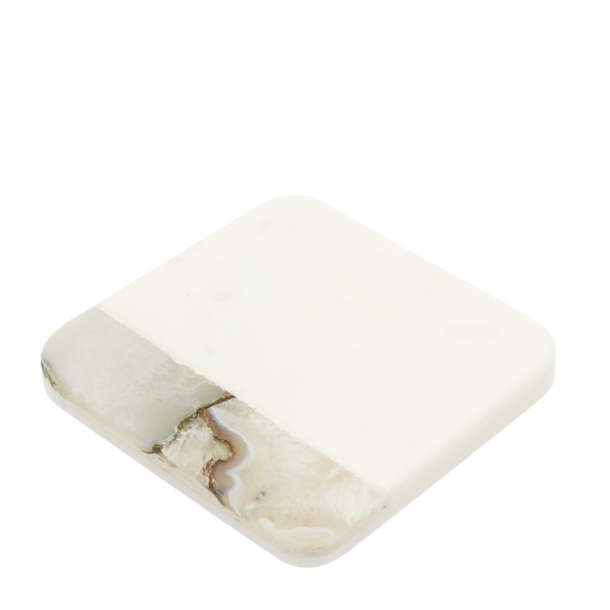 Mermer Bardak Altlığı (10,5x10,5x1,3cm)