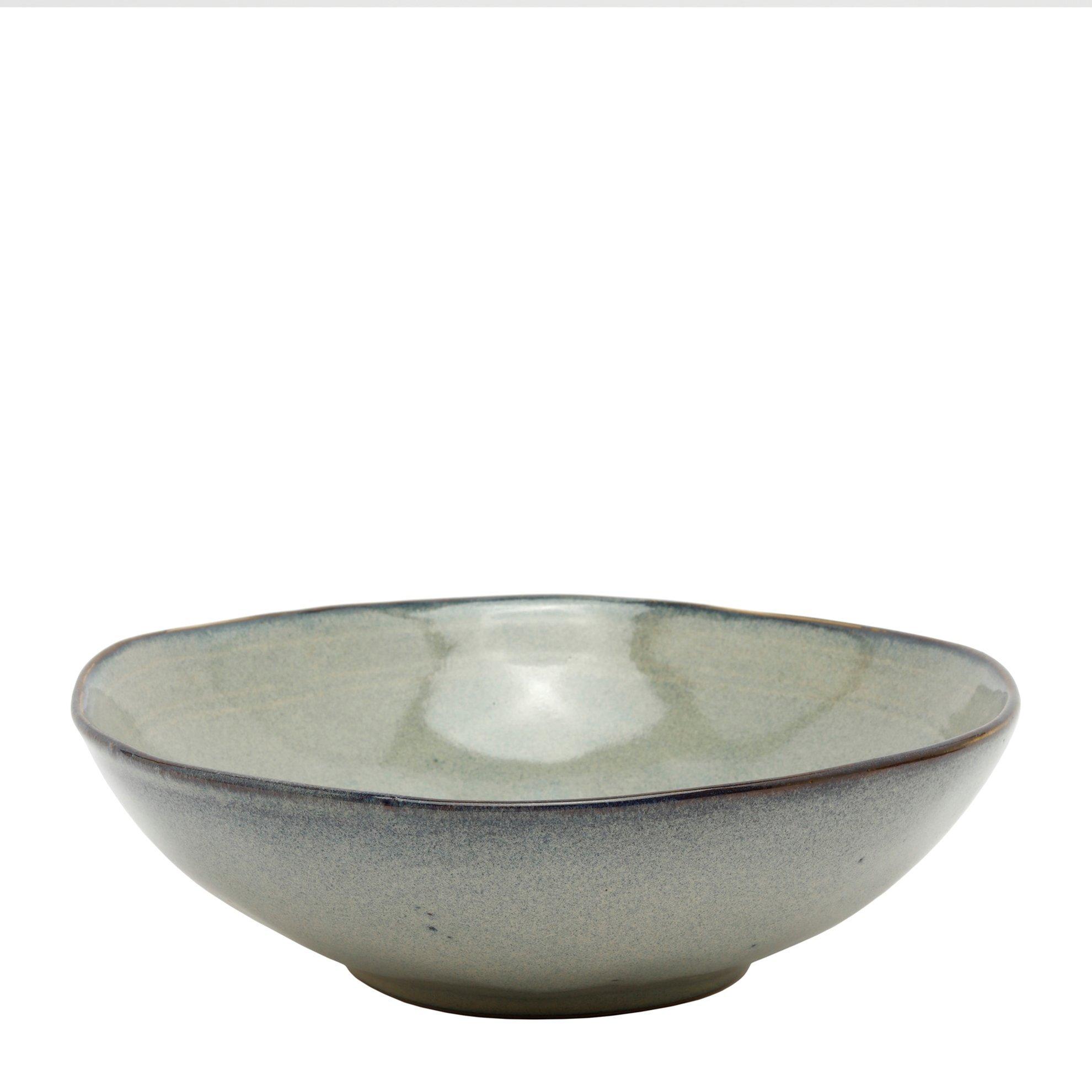 Tiefer Teller aus Steingut