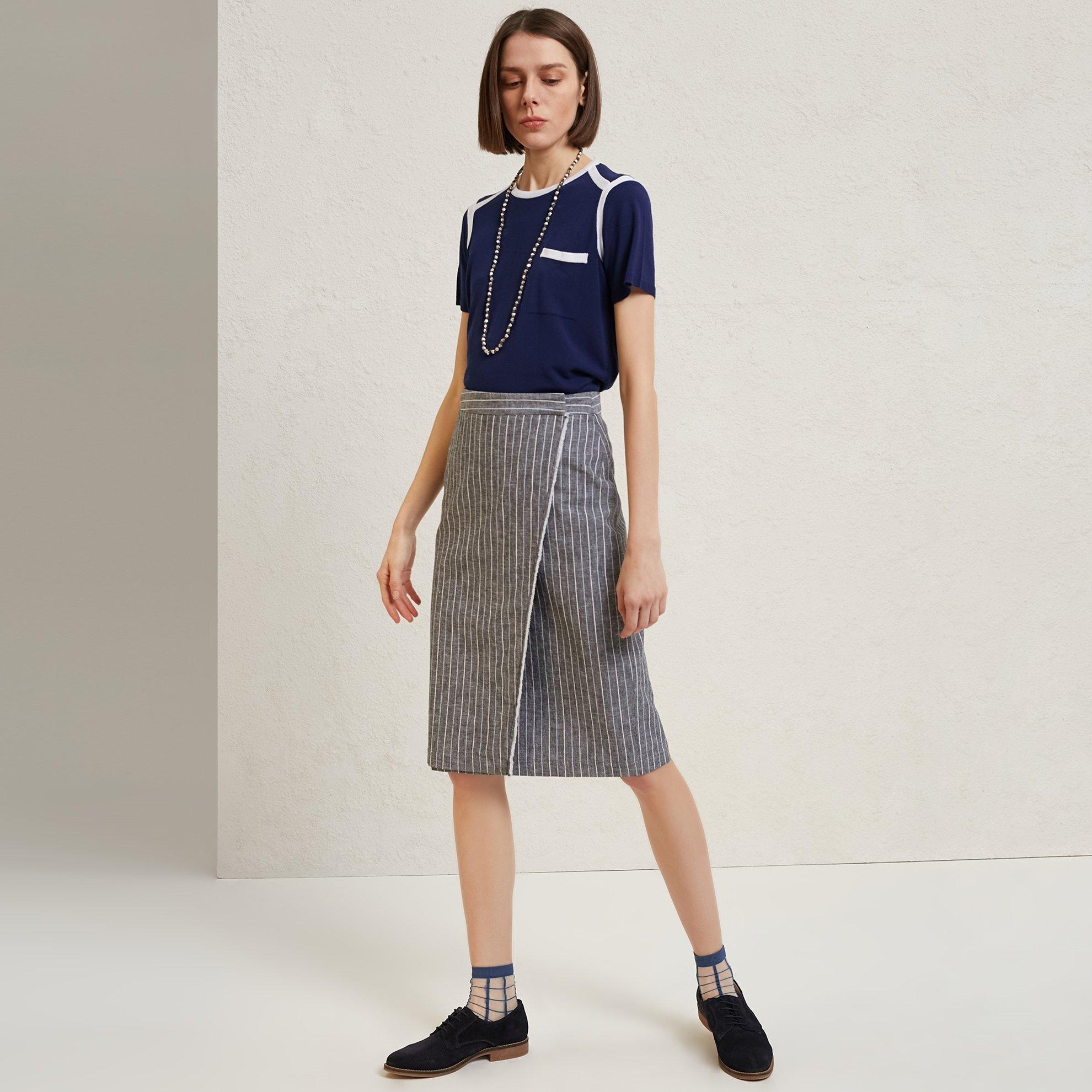 Fringe Detail Skirt