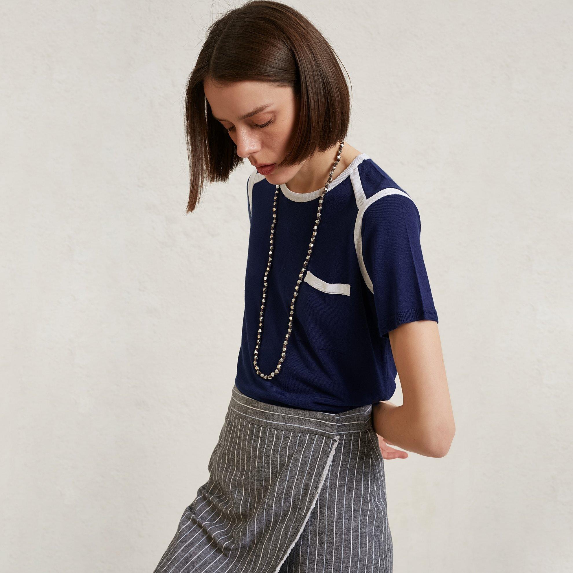 Pocket Detail Knitwear
