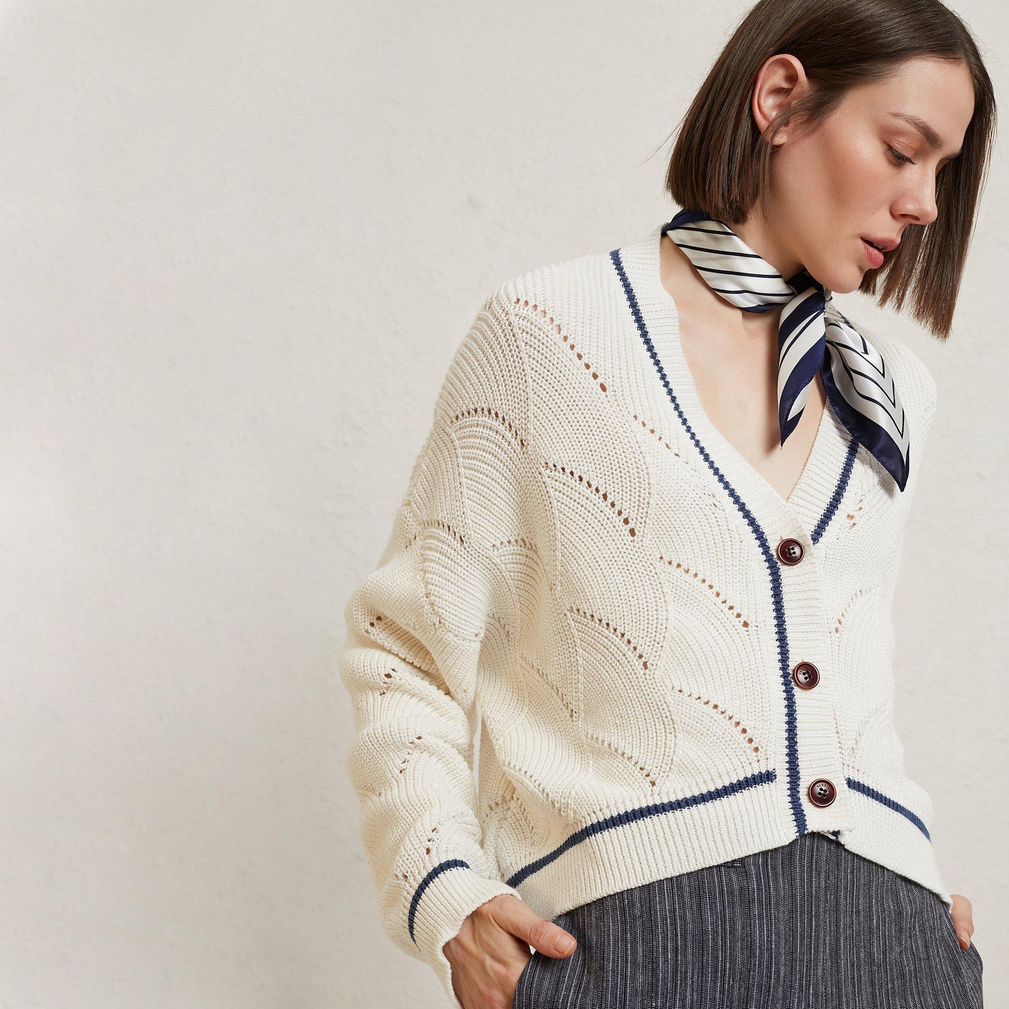 Stripe Detail Knitwear