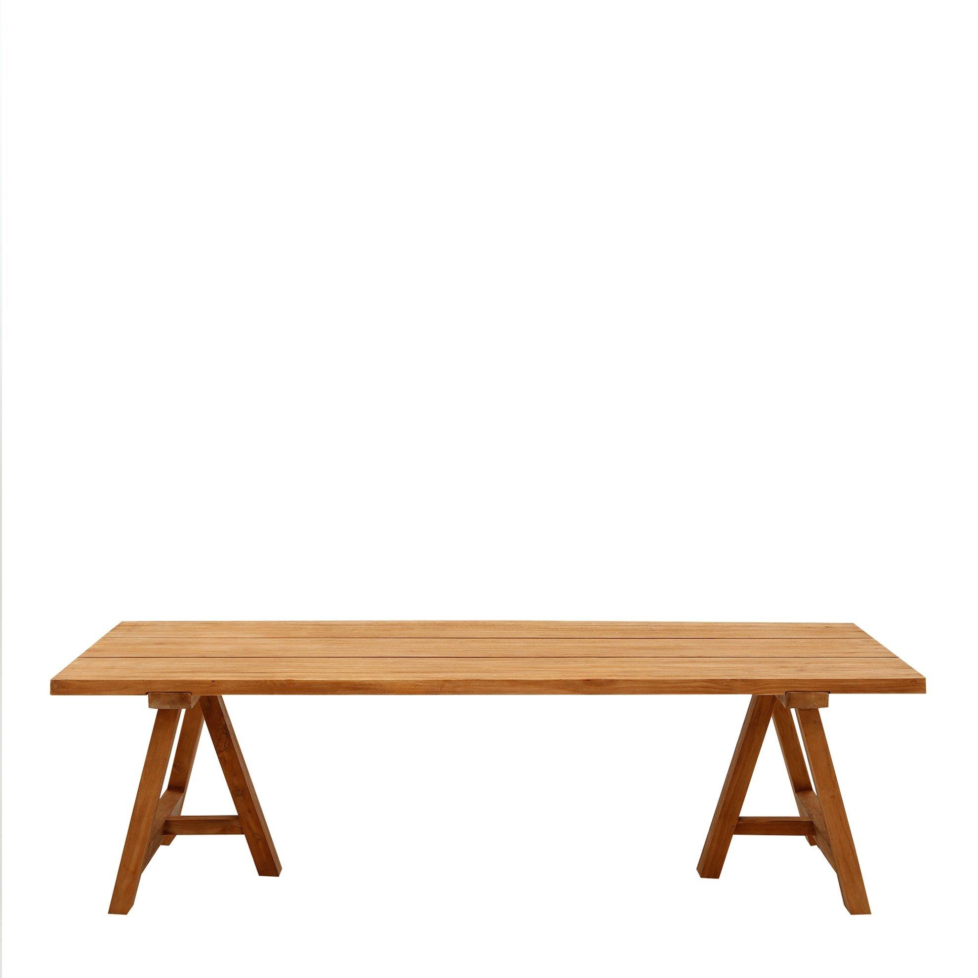 Tik Ağacı Yemek Masası