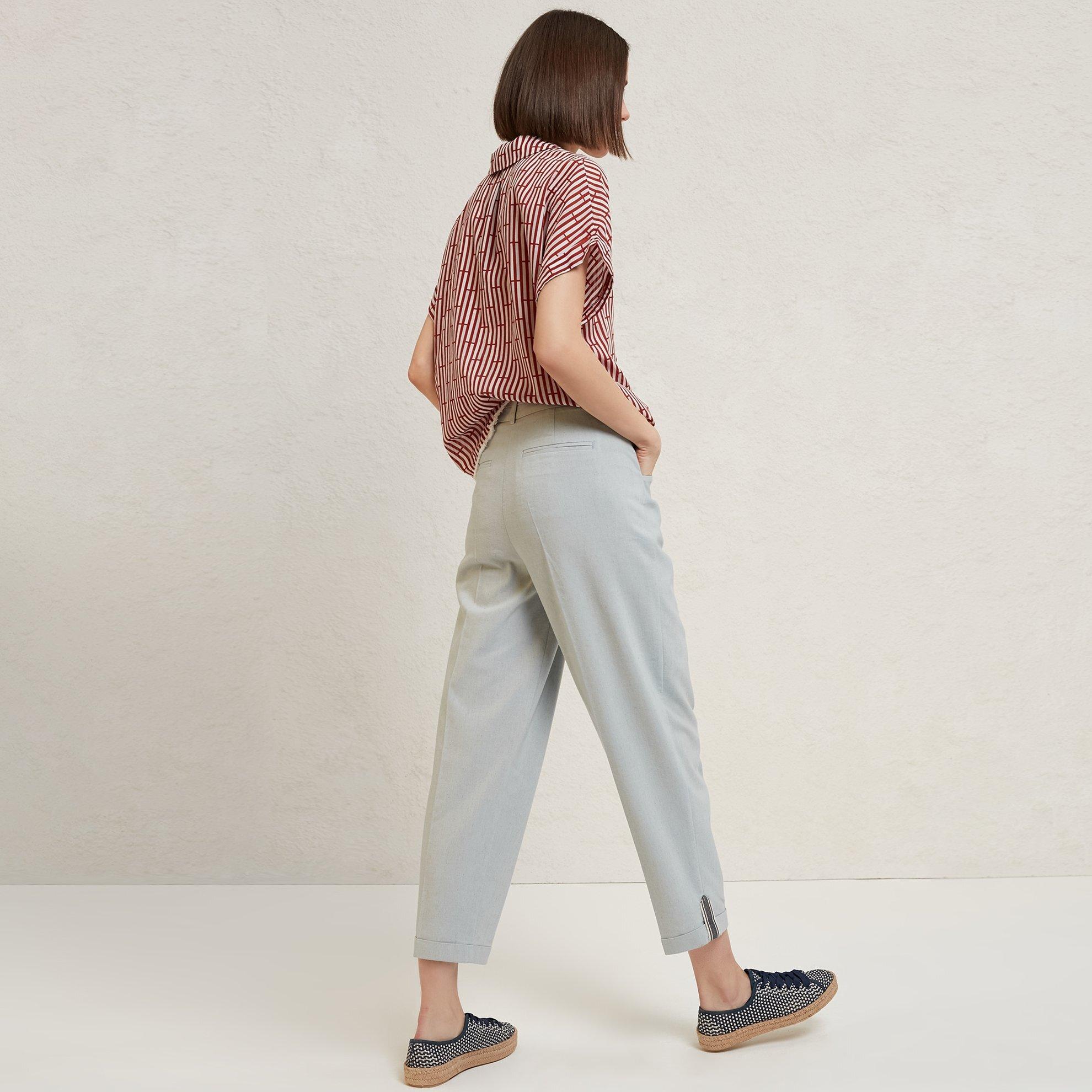 Hem Detailed Trousers