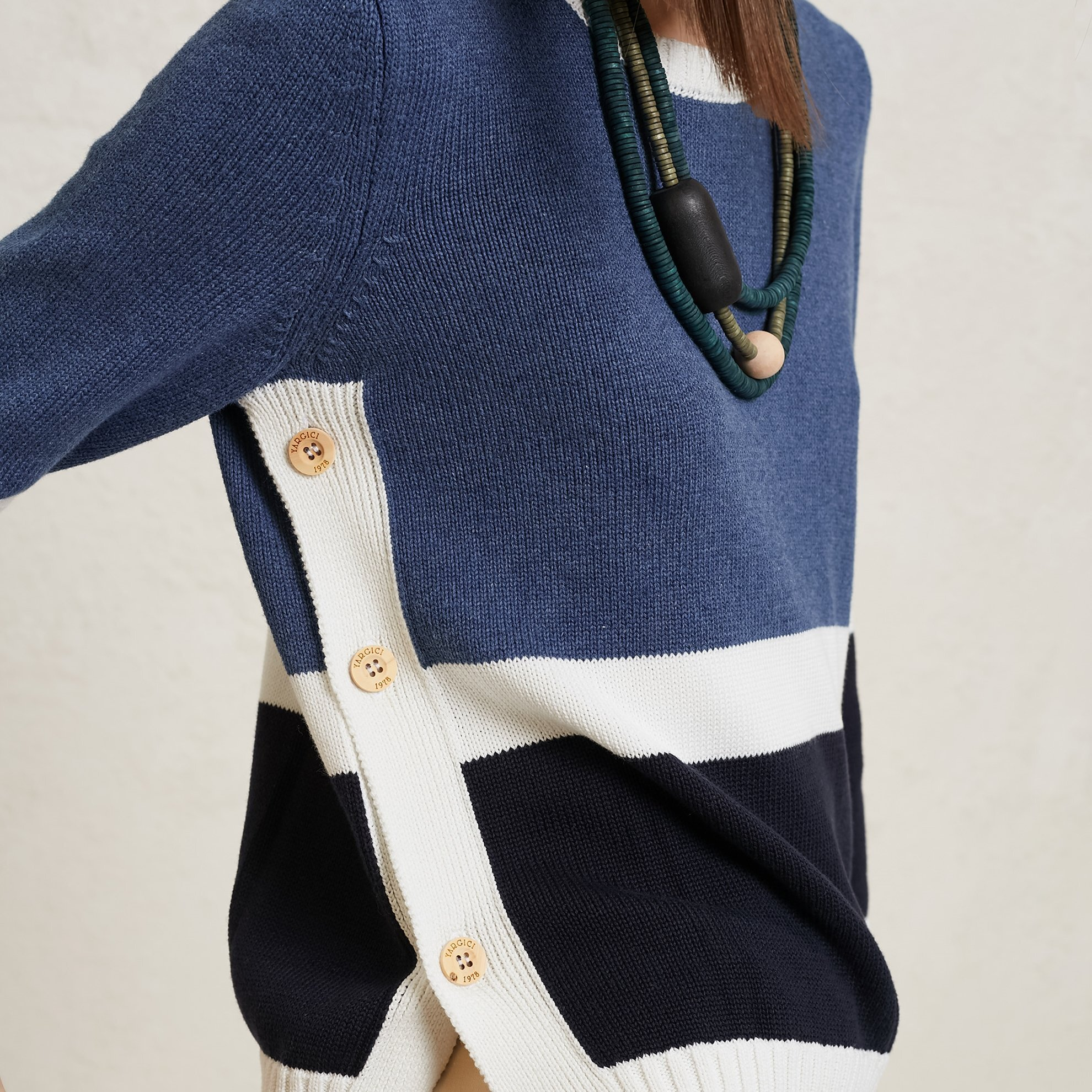 Color Block  Knitwear