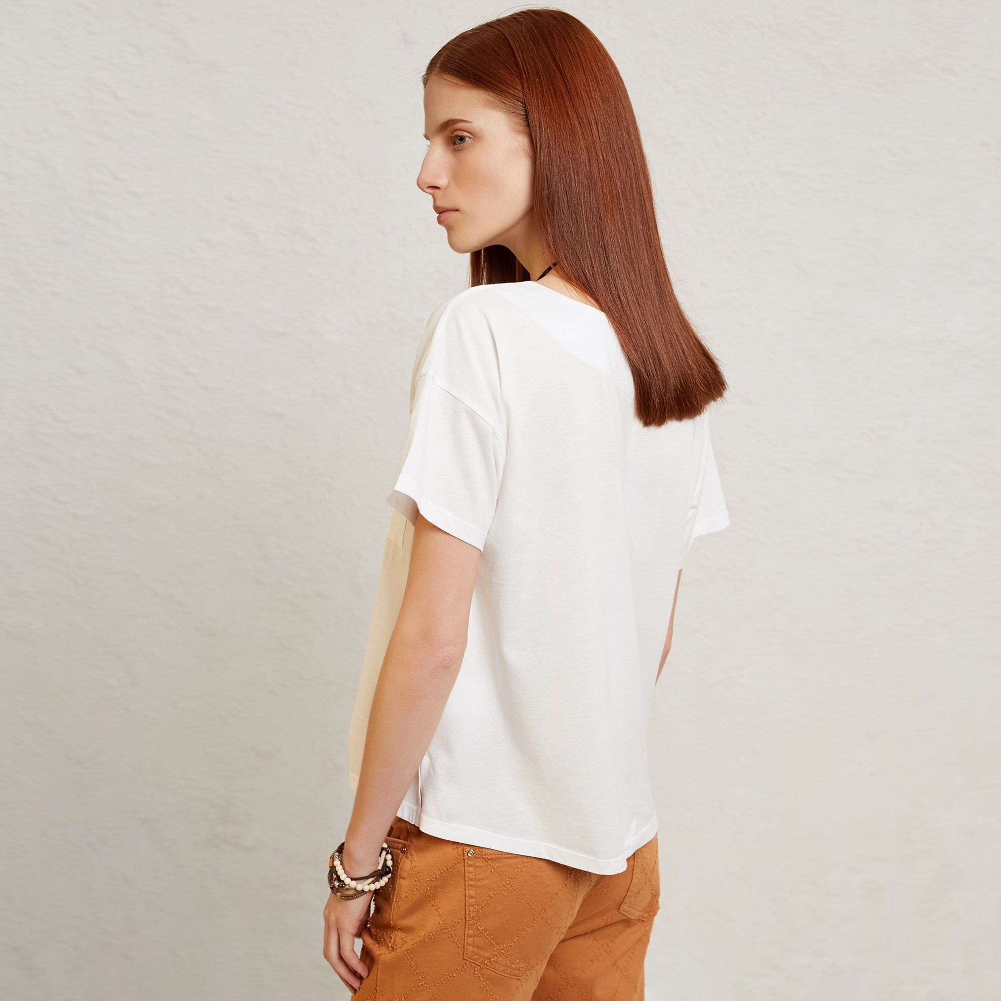 Placket Detailed T-Shirt