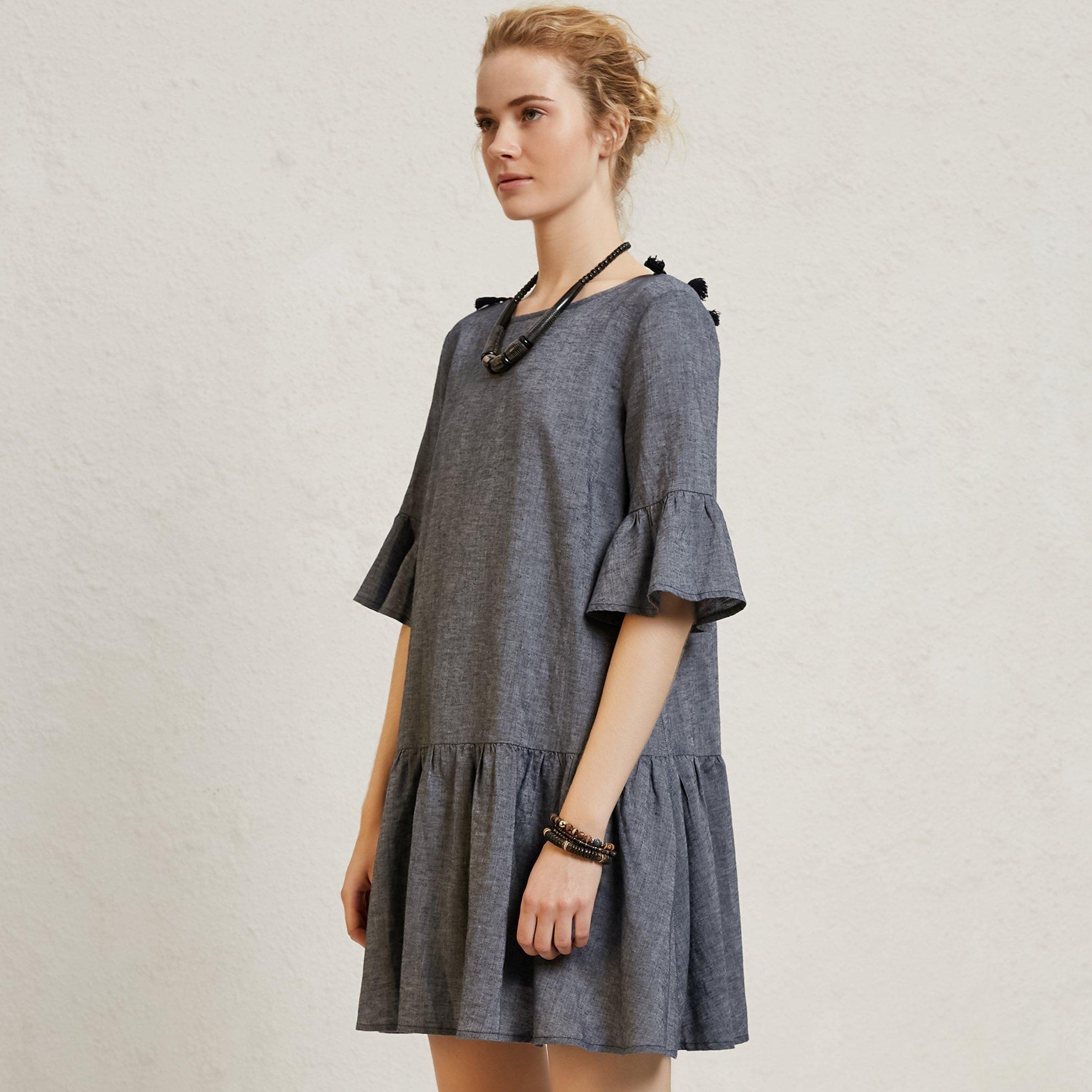 Fringe Detailed  Dress