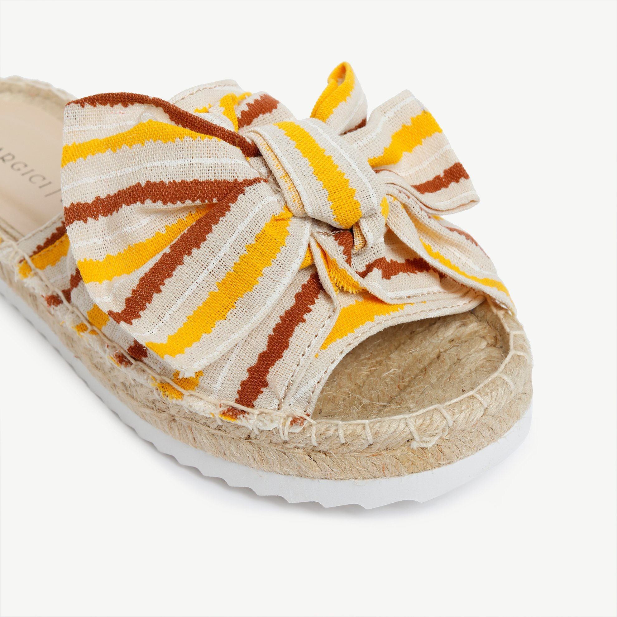 Fabric Slipper With Jute Outsole