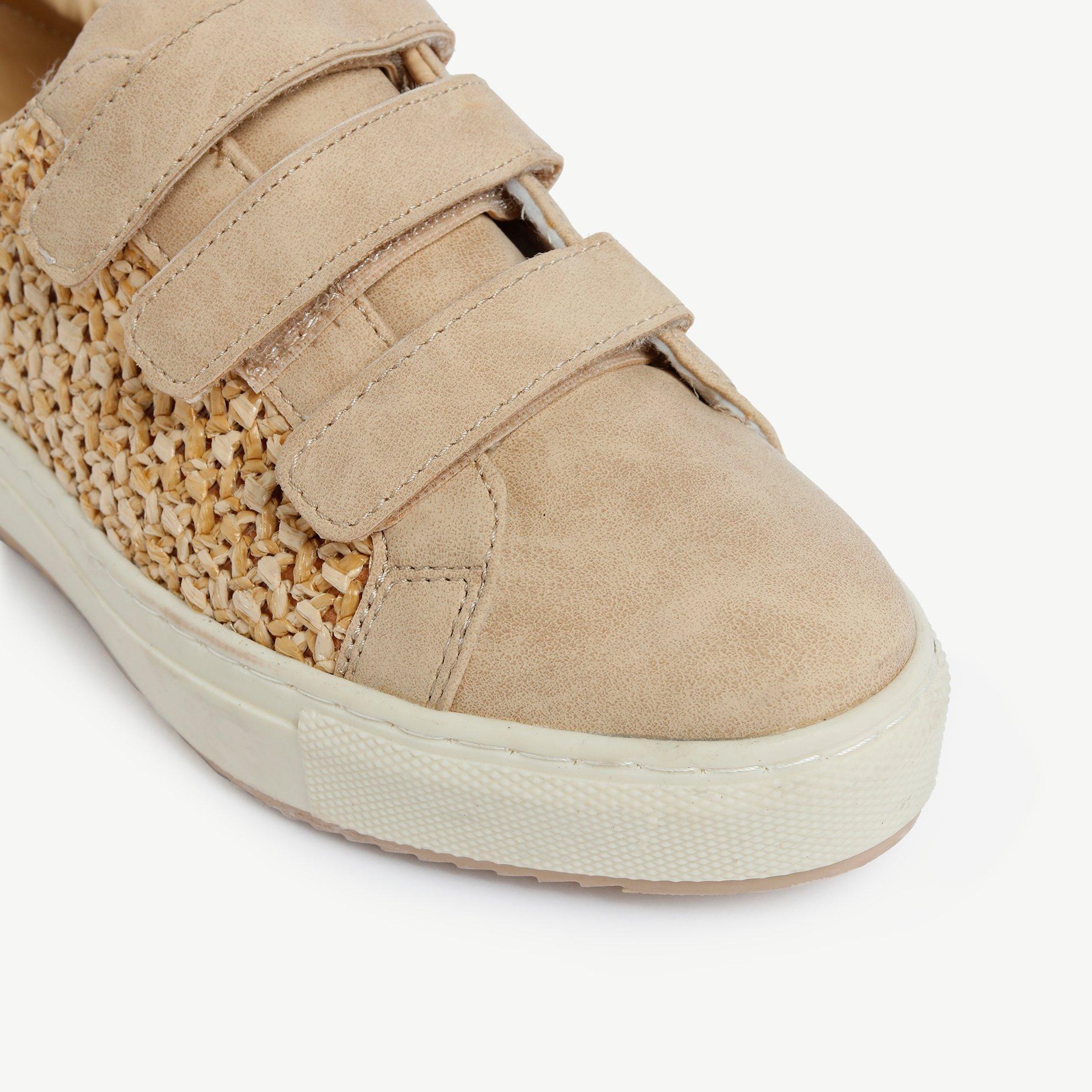 Hasır Detaylı Spor Ayakkabı