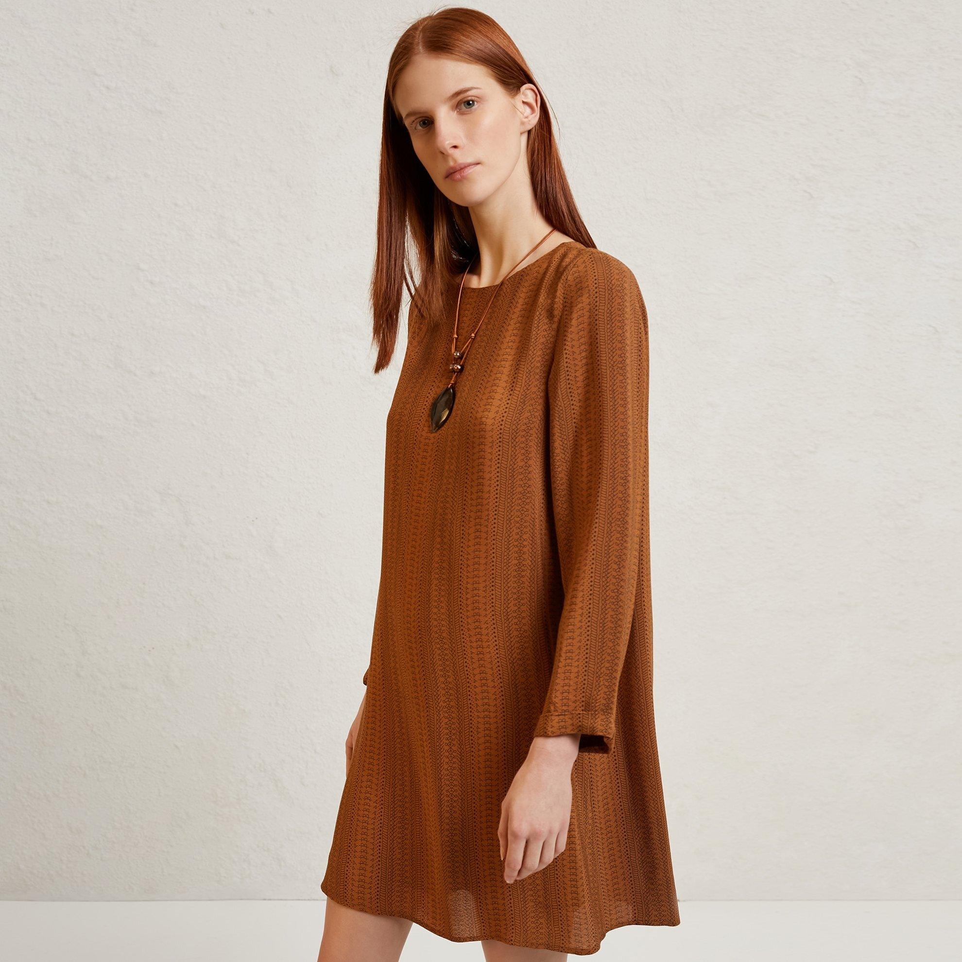 A Kleid mit Schleifendetail