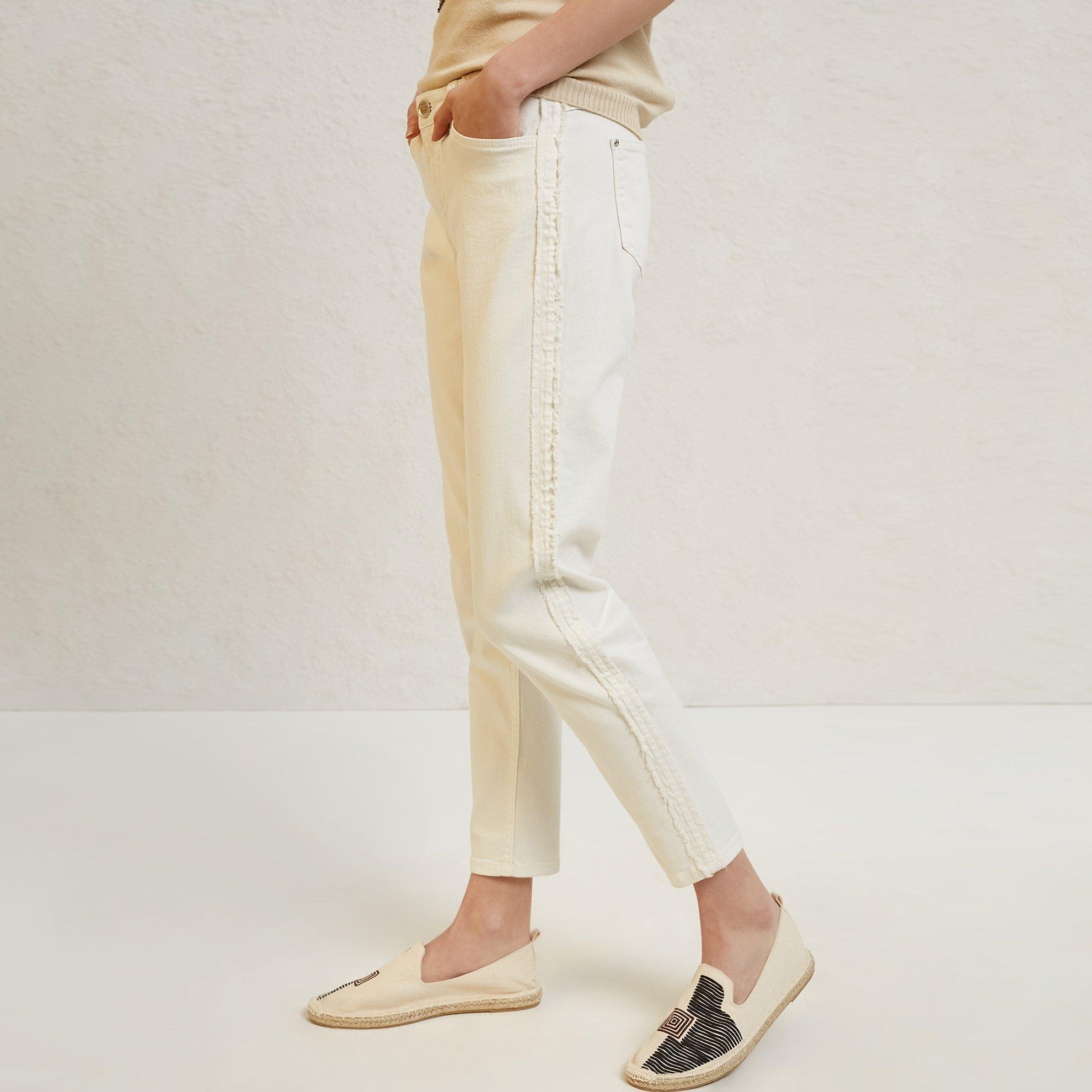 Side Stitch Detailed 5 Pocket Trouser