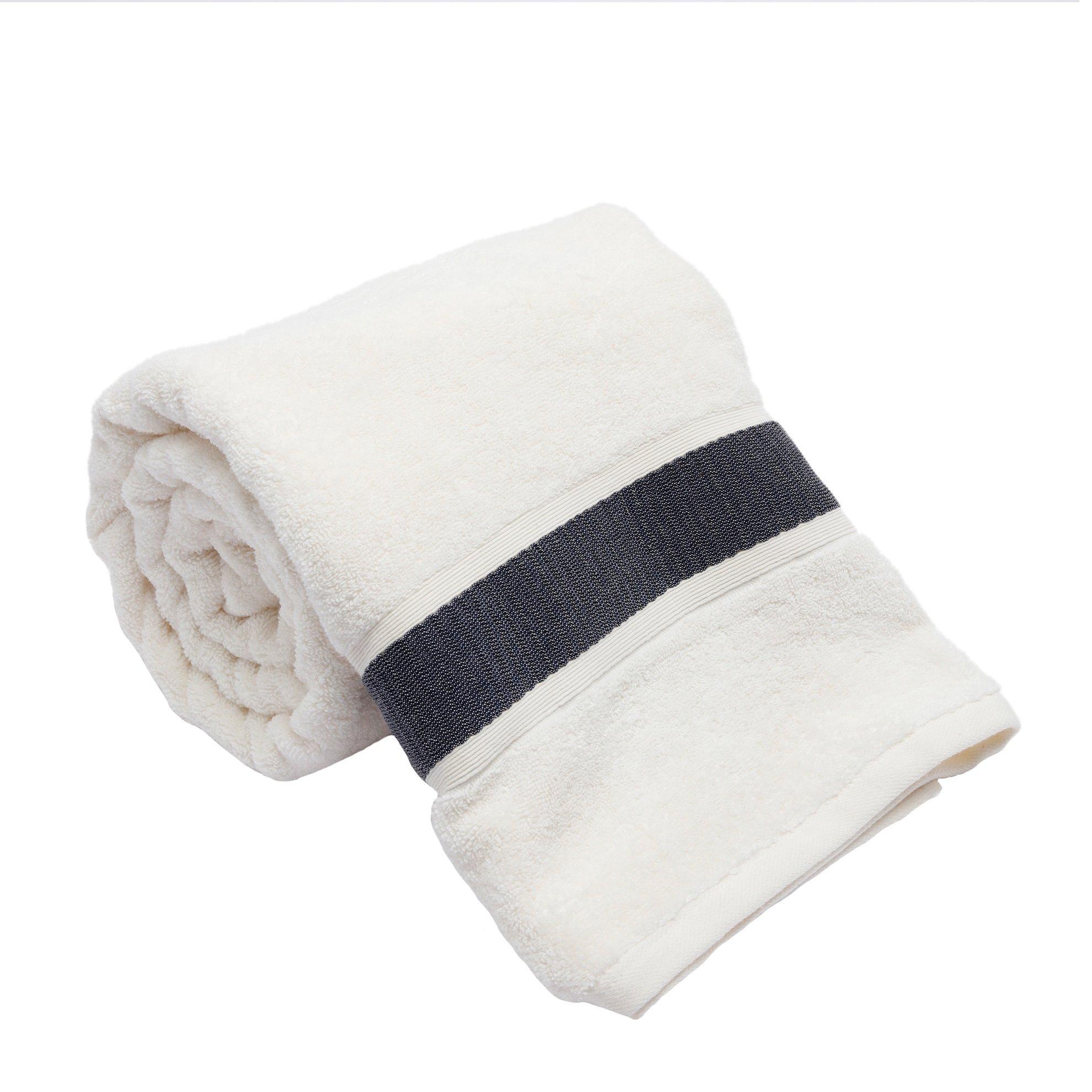 Bath Towel Anthracite ( 90 X 150 Cm )