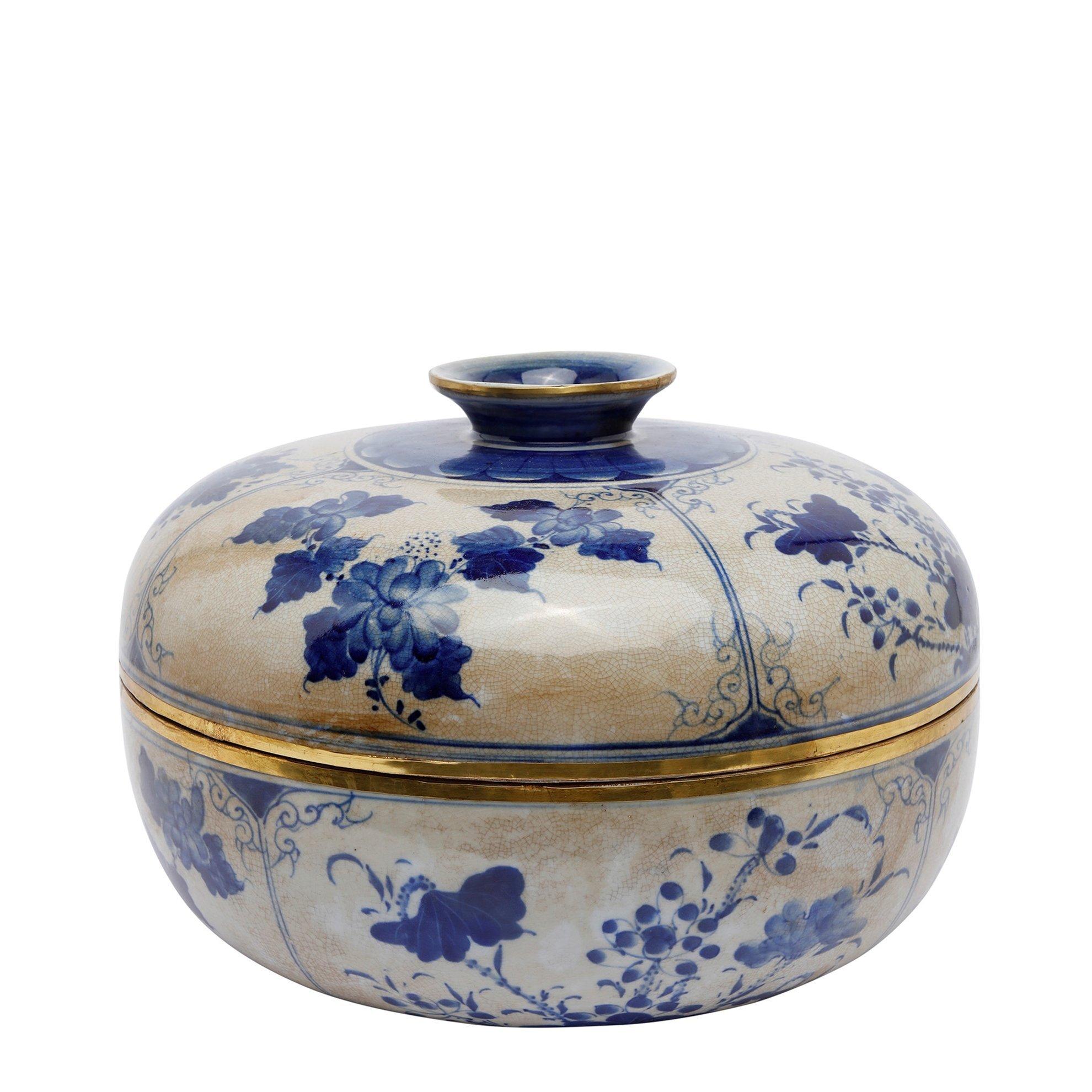 Handmade Porcelain Bowl ( 31 X 25 Cm )