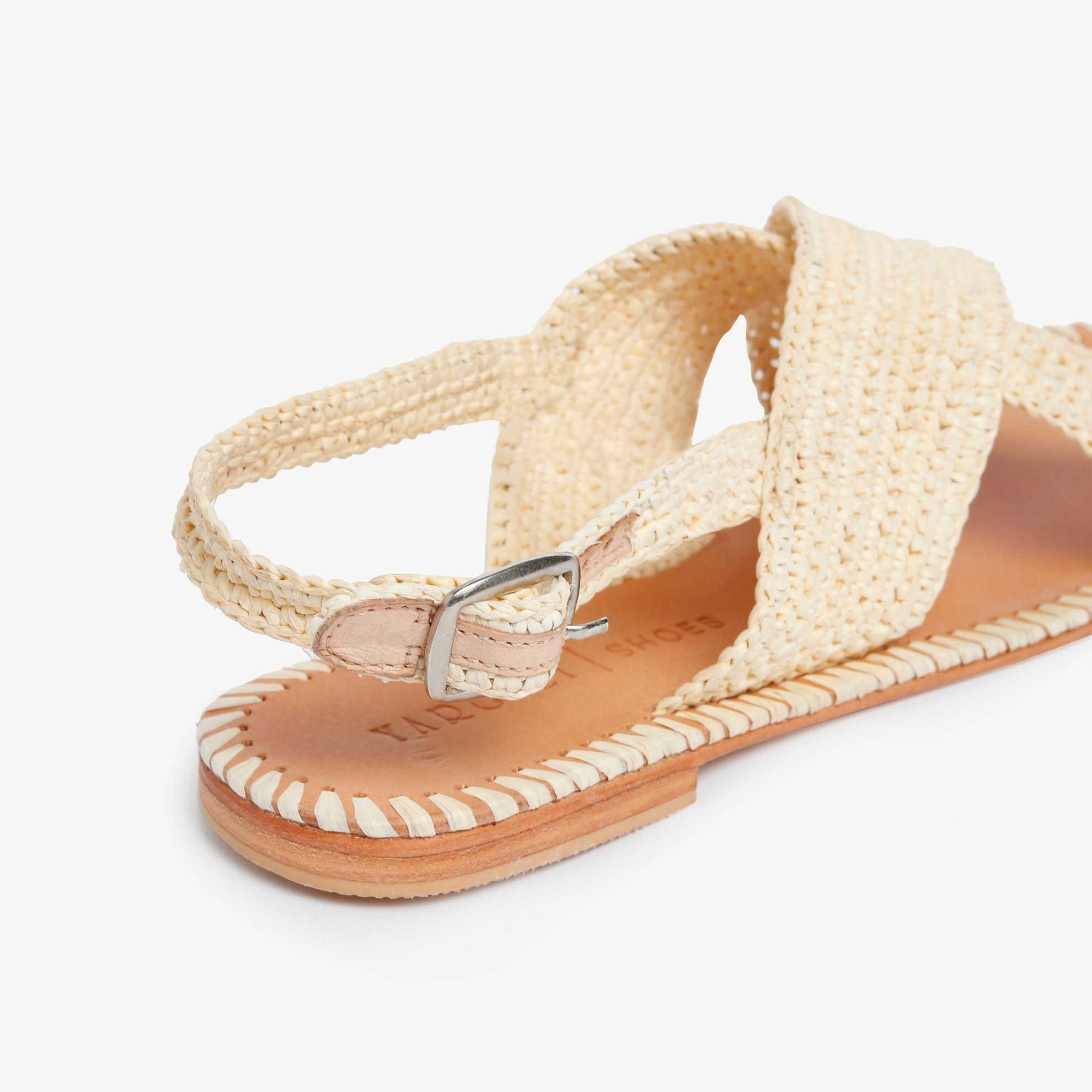 Woven Raffia Sandal