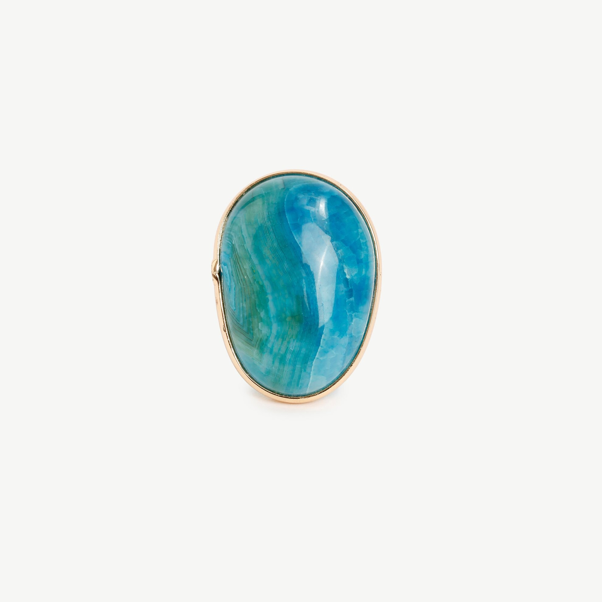 Ring mit runden Steinen